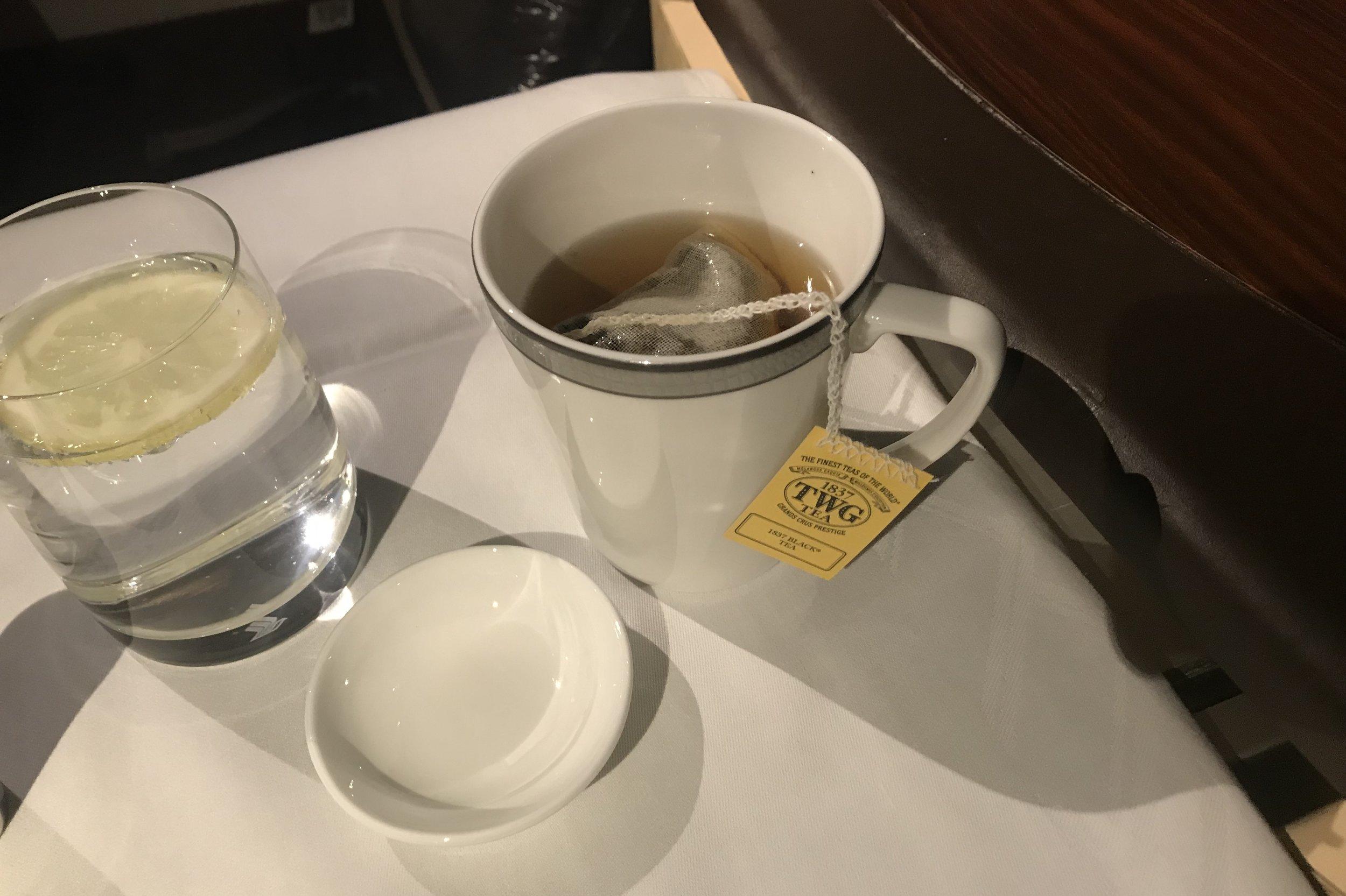Singapore Airlines Suites Class – 1837 Black Tea