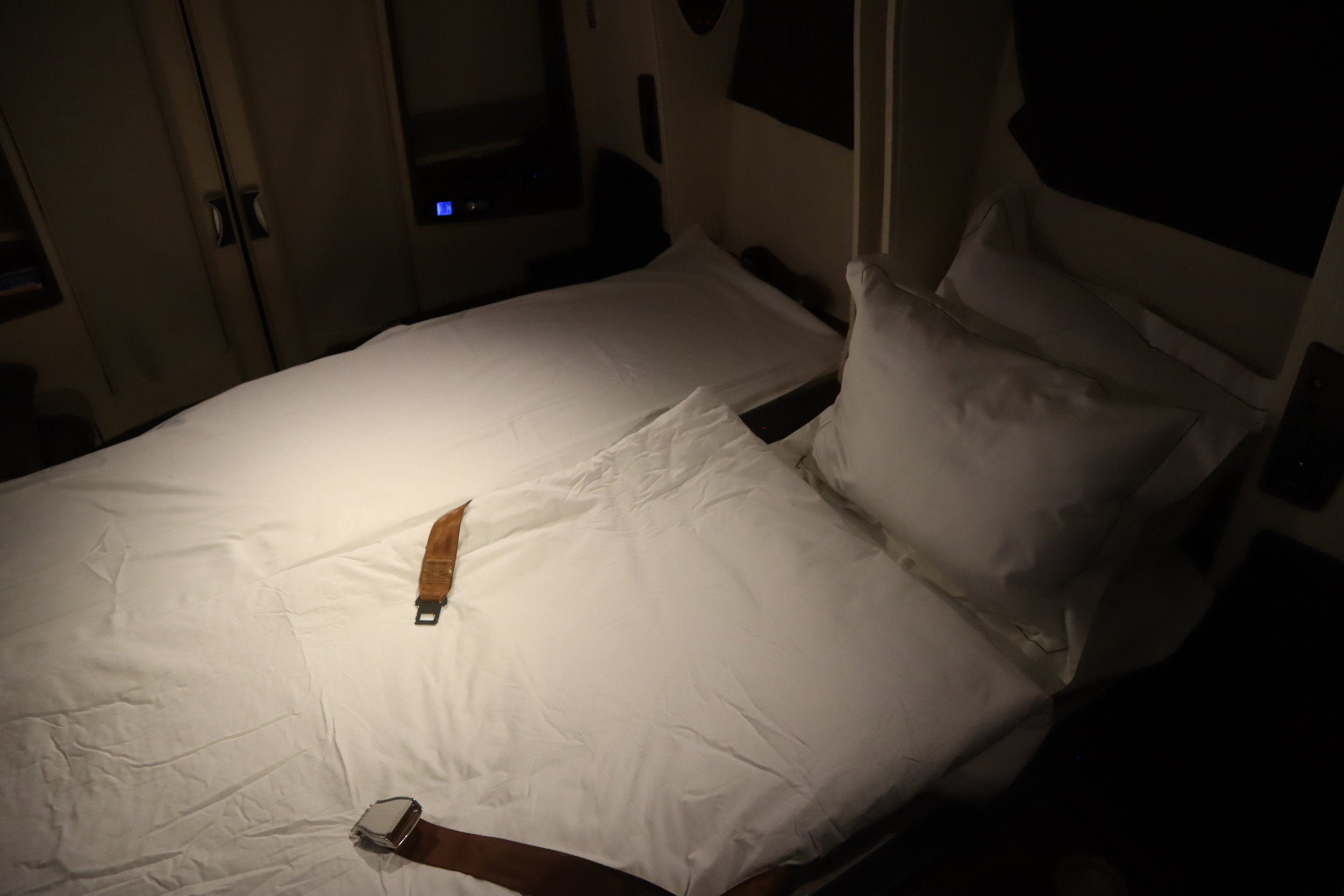 Singapore Airlines Suites Class – Double Bed in the Sky