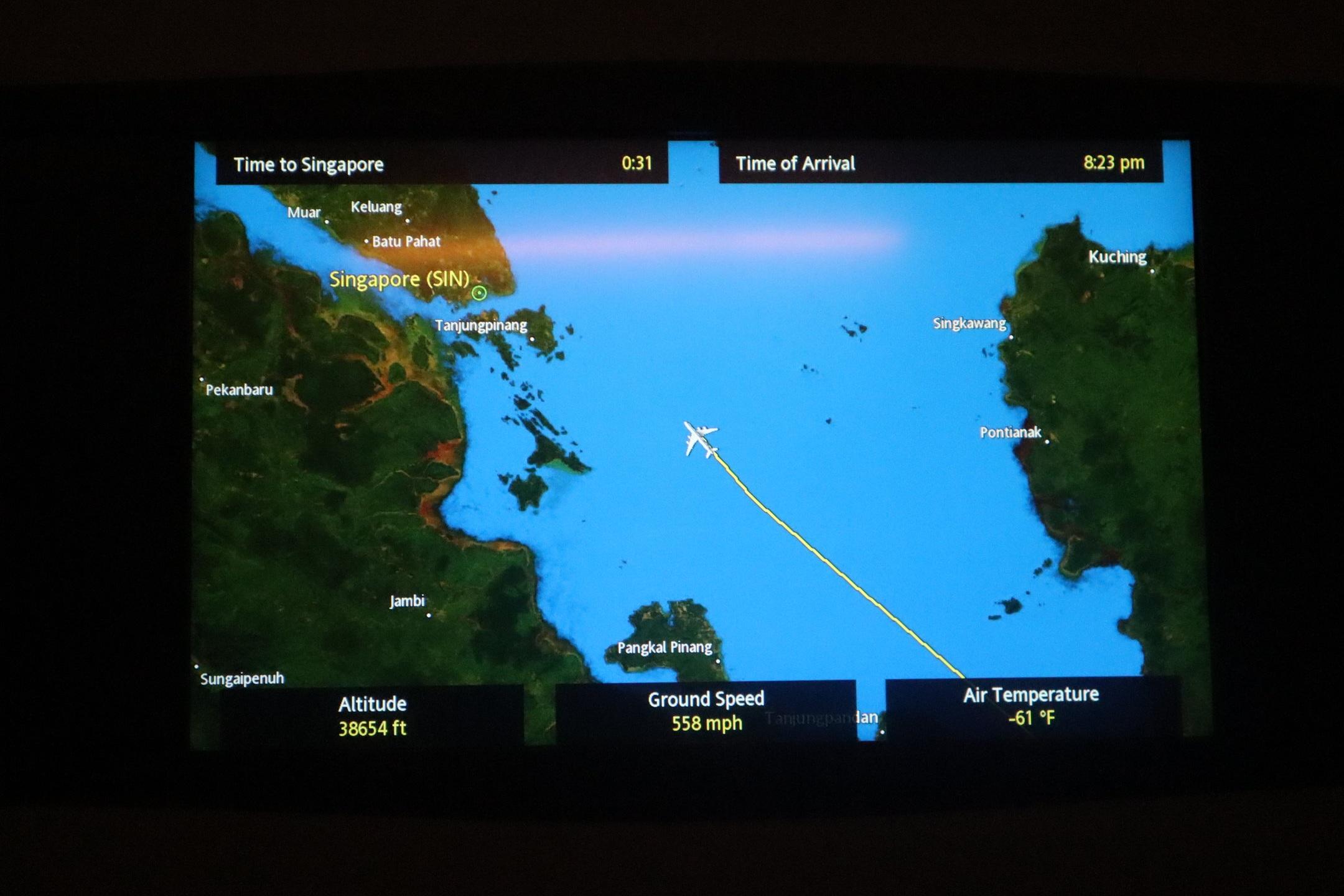 Singapore Airlines Suites Class – Airshow