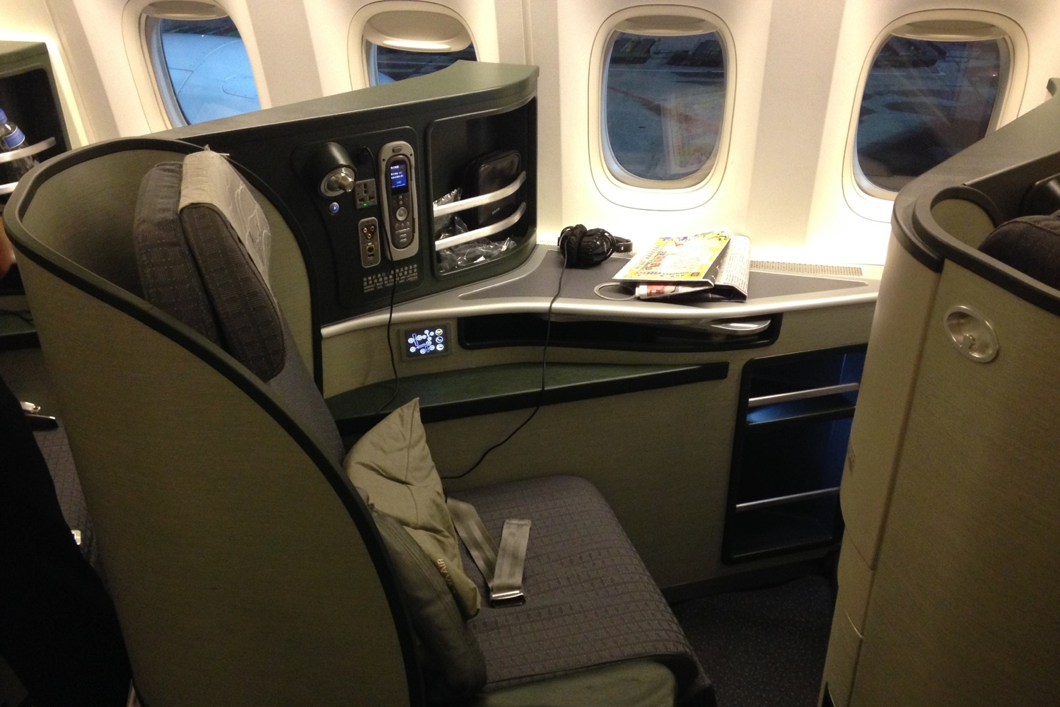 Redeem 75,000 Aeroplan miles for a business class flight to Asia
