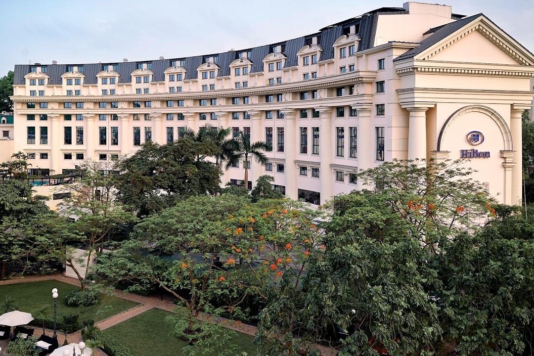 Redeem 30,000–40,000 Hilton Honors points per night at the Hilton Hanoi Opera