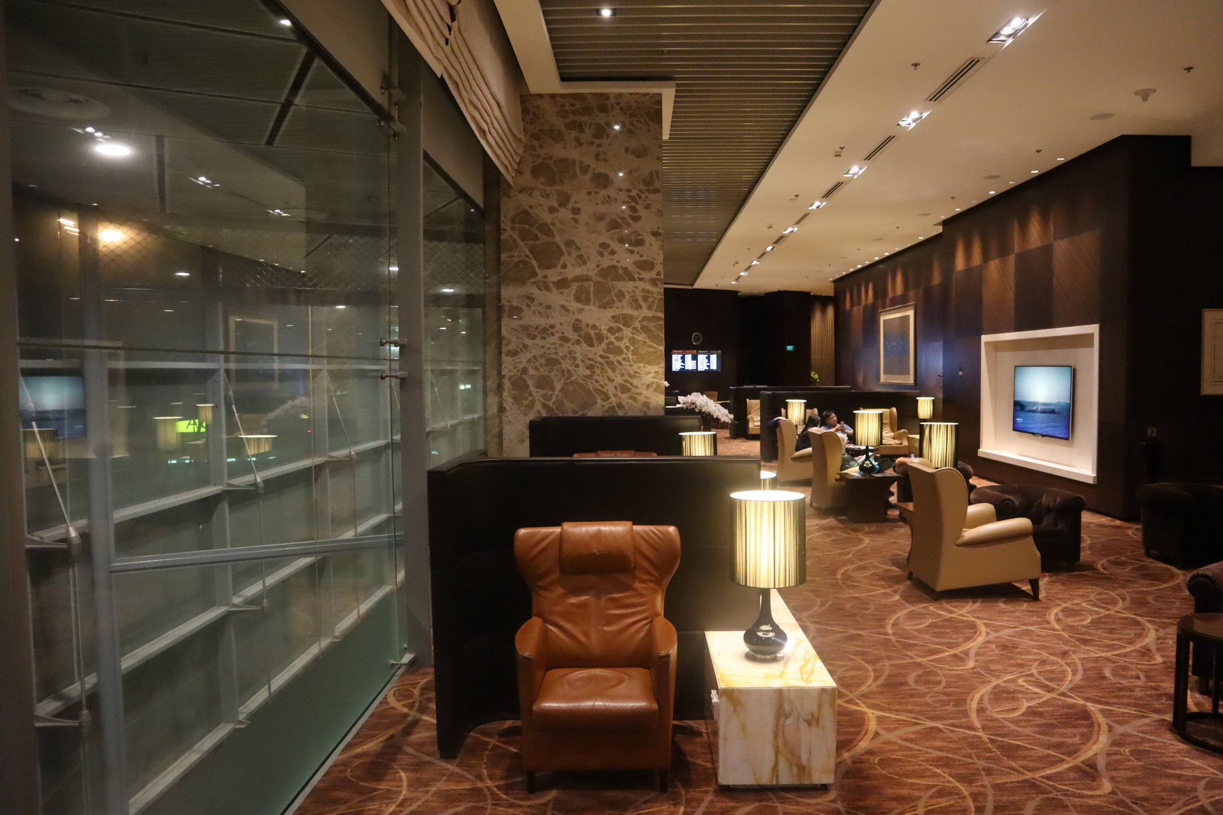 The Private Room by Singapore Airlines – Seating area