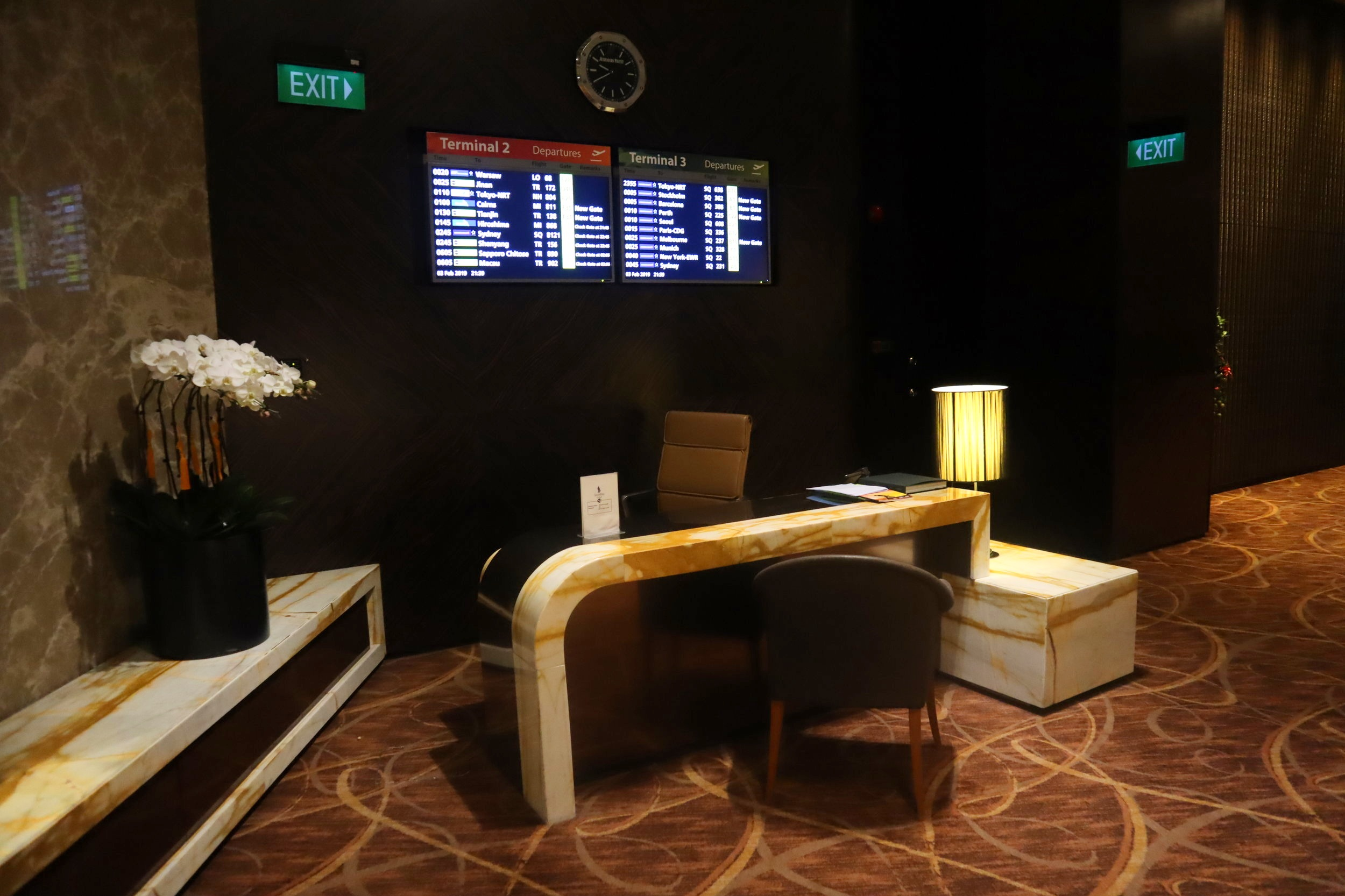 The Private Room by Singapore Airlines – Concierge desk