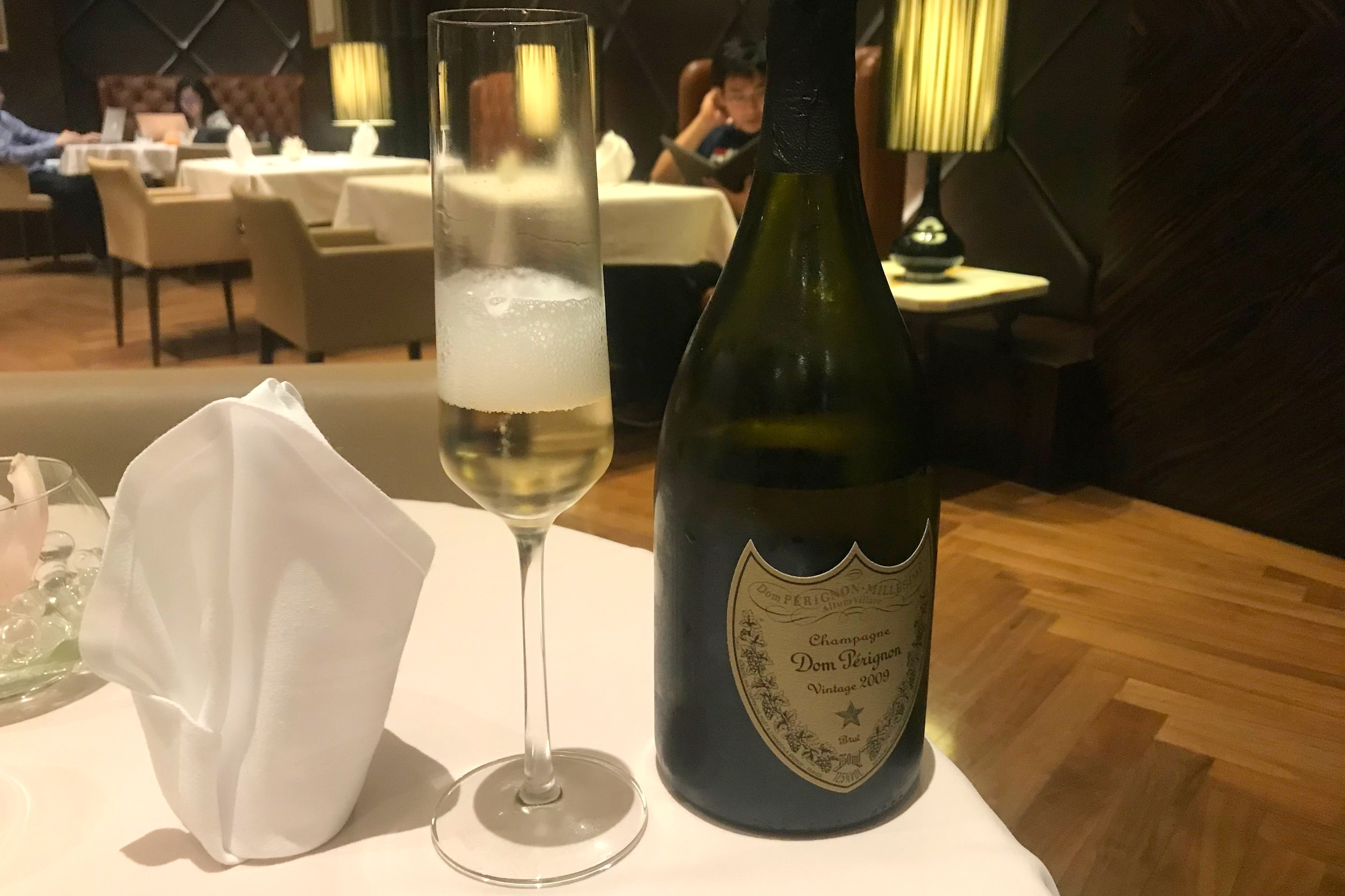 The Private Room by Singapore Airlines – Dom Perignon Vintage 2009
