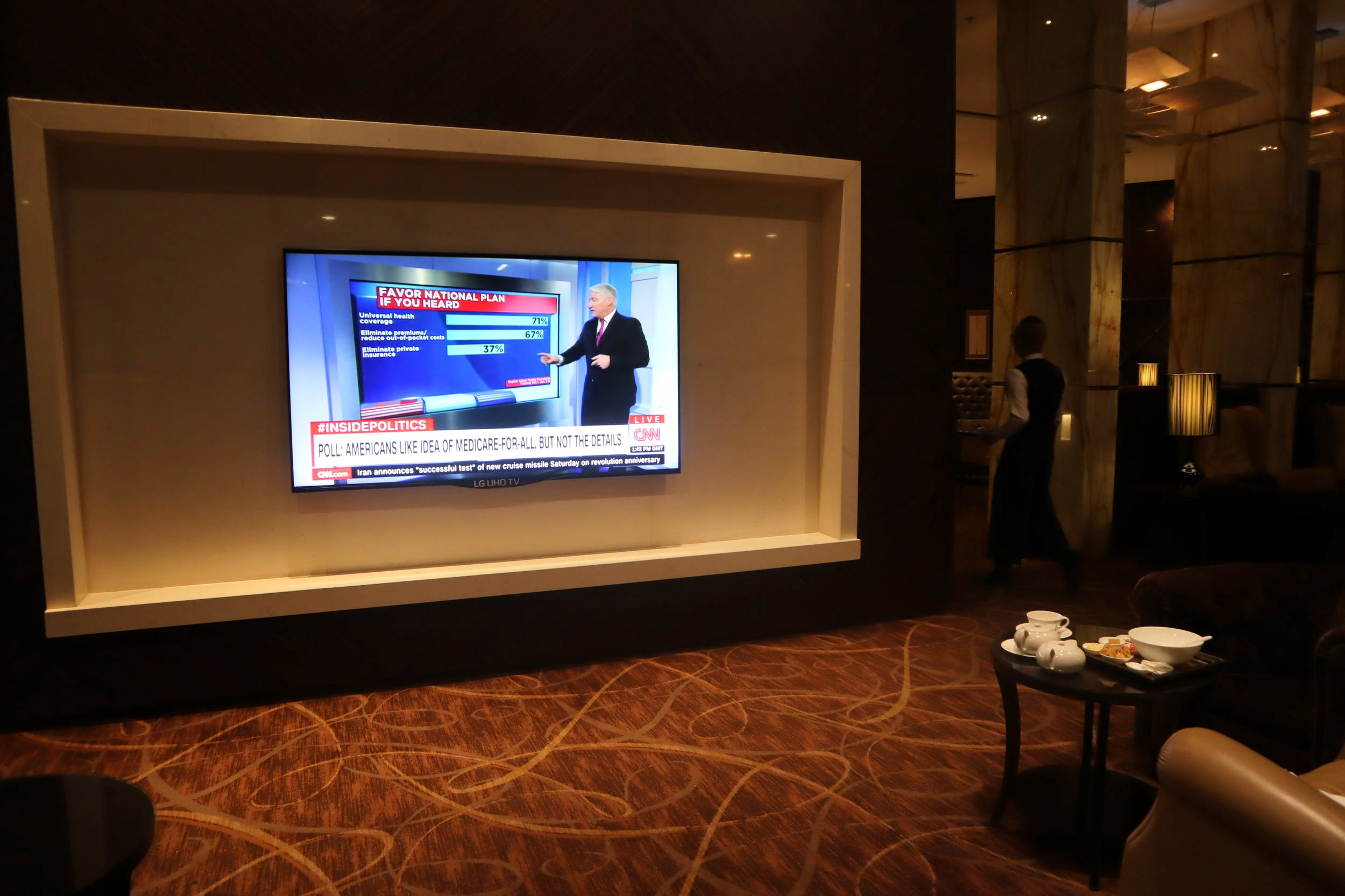 The Private Room by Singapore Airlines – Television