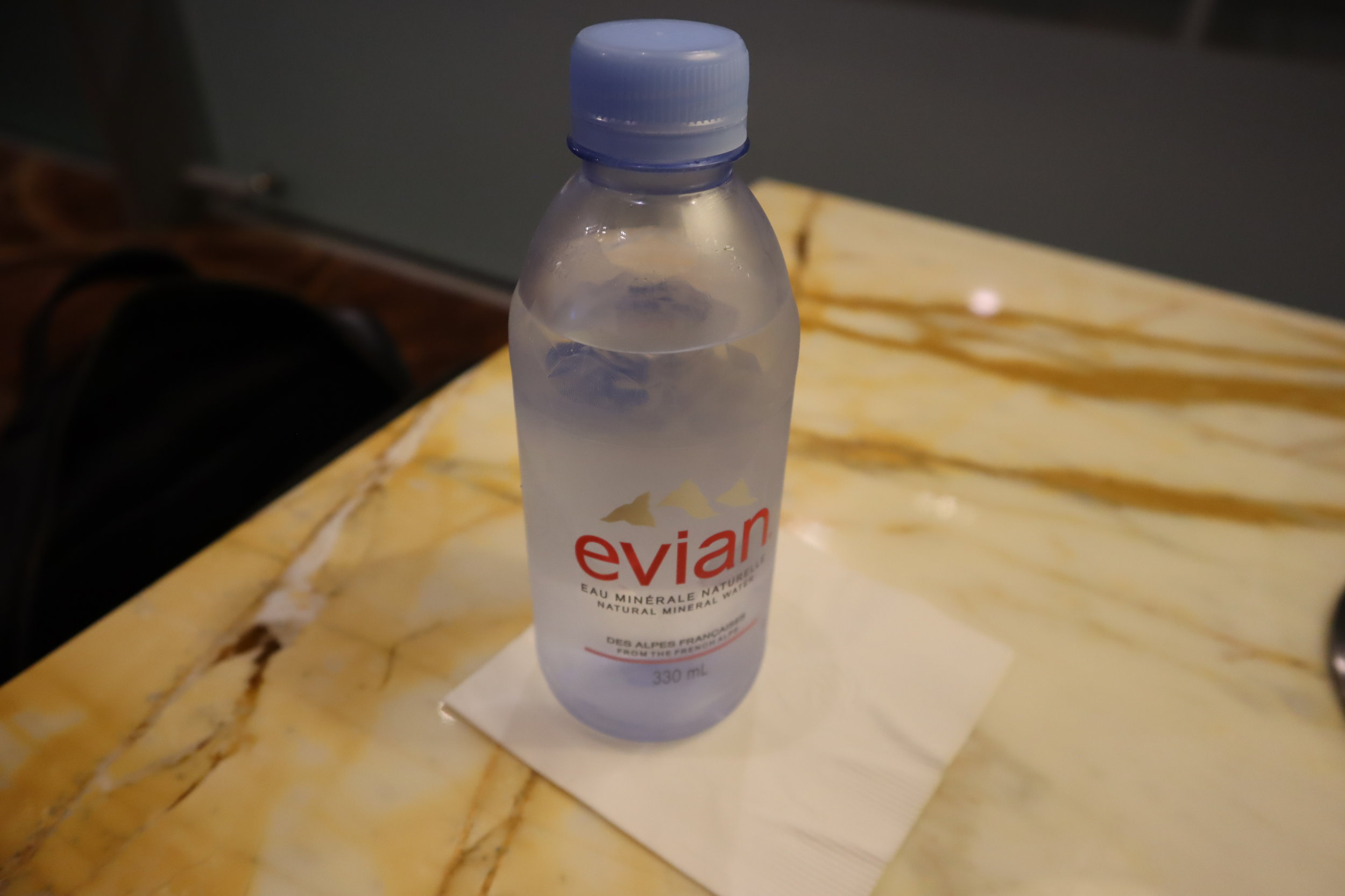 The Private Room by Singapore Airlines – Bottled water