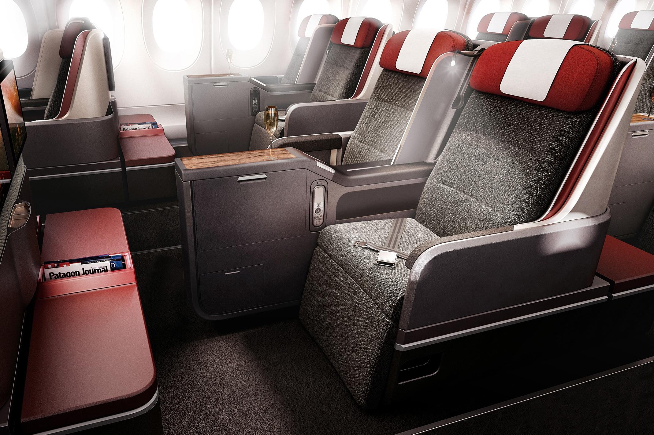 Fly LATAM business class on an Asia Miles multi-carrier award!
