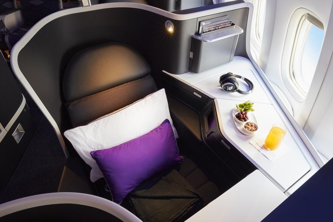 Virgin Australia domestic A330 business class