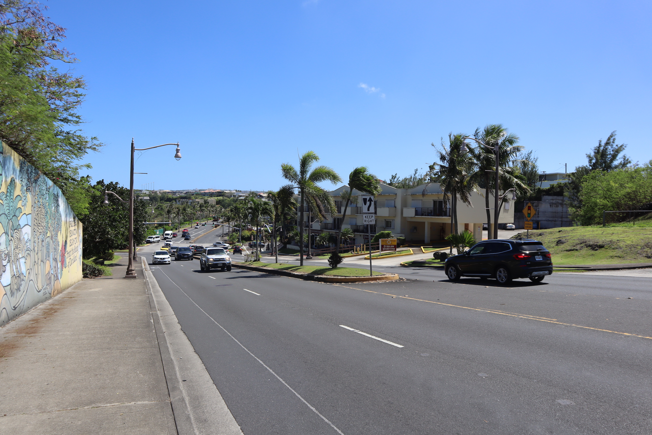 Street scene near Tumon Beach