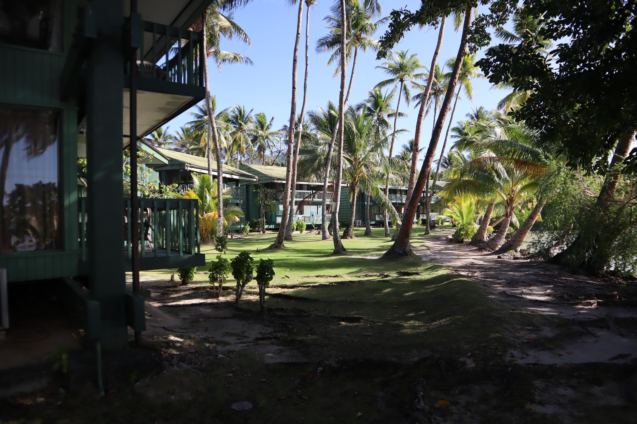 Blue Lagoon Dive Resort – Guest room buildings