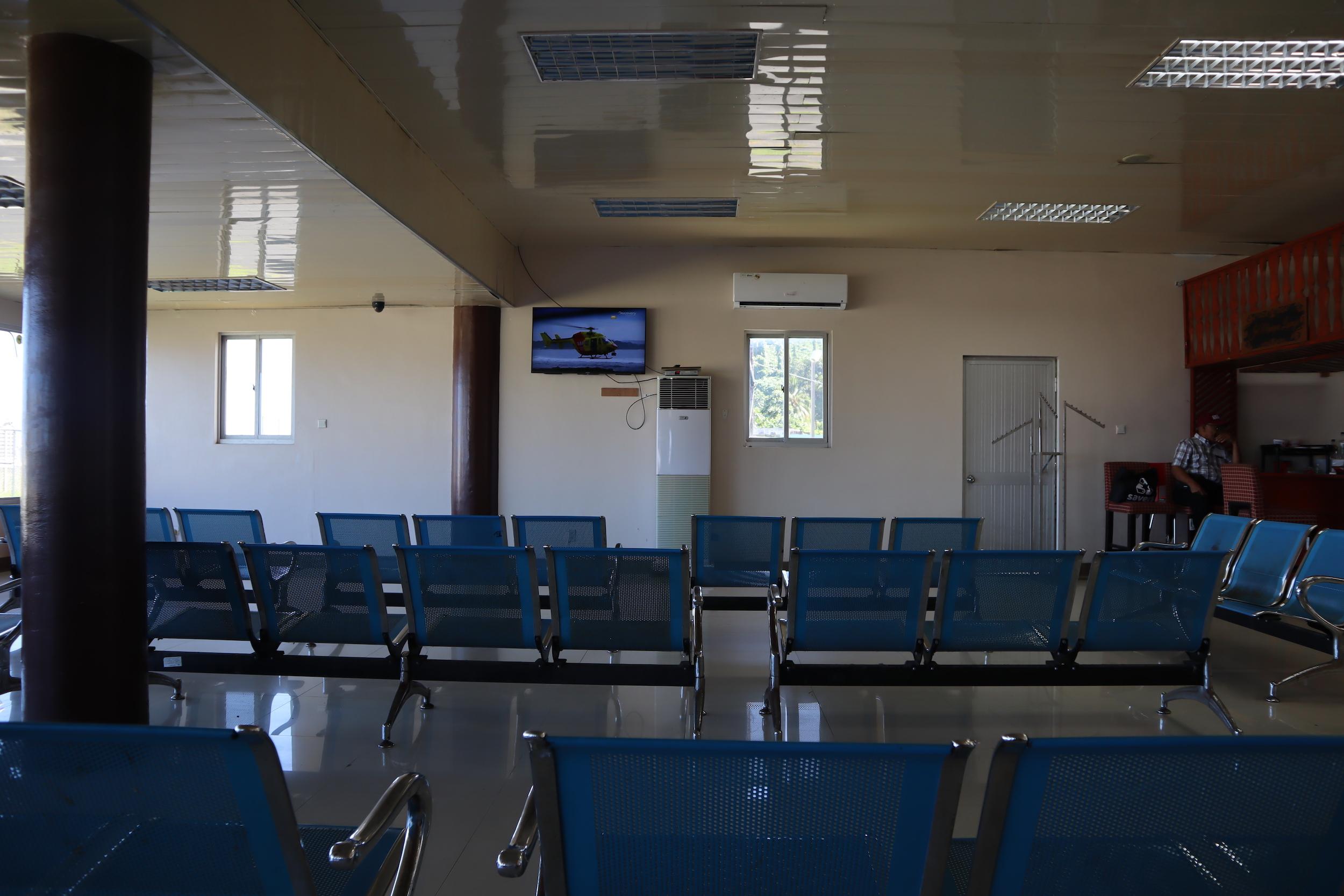 Chuuk International Airport – Waiting area