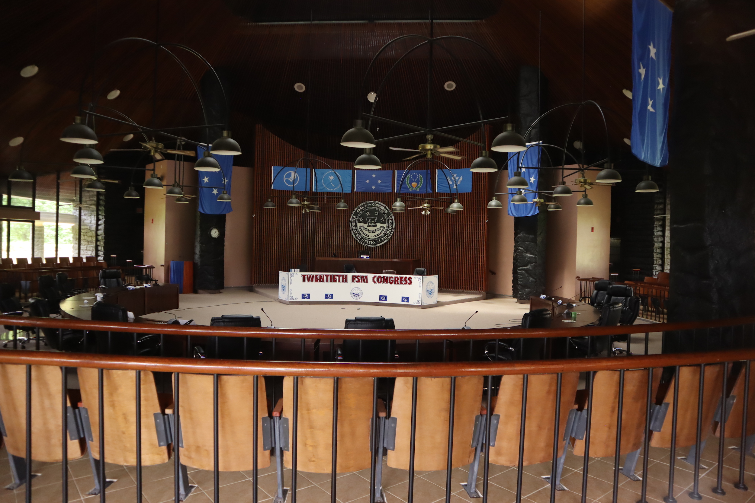 Federated States of Micronesia Congress Chamber
