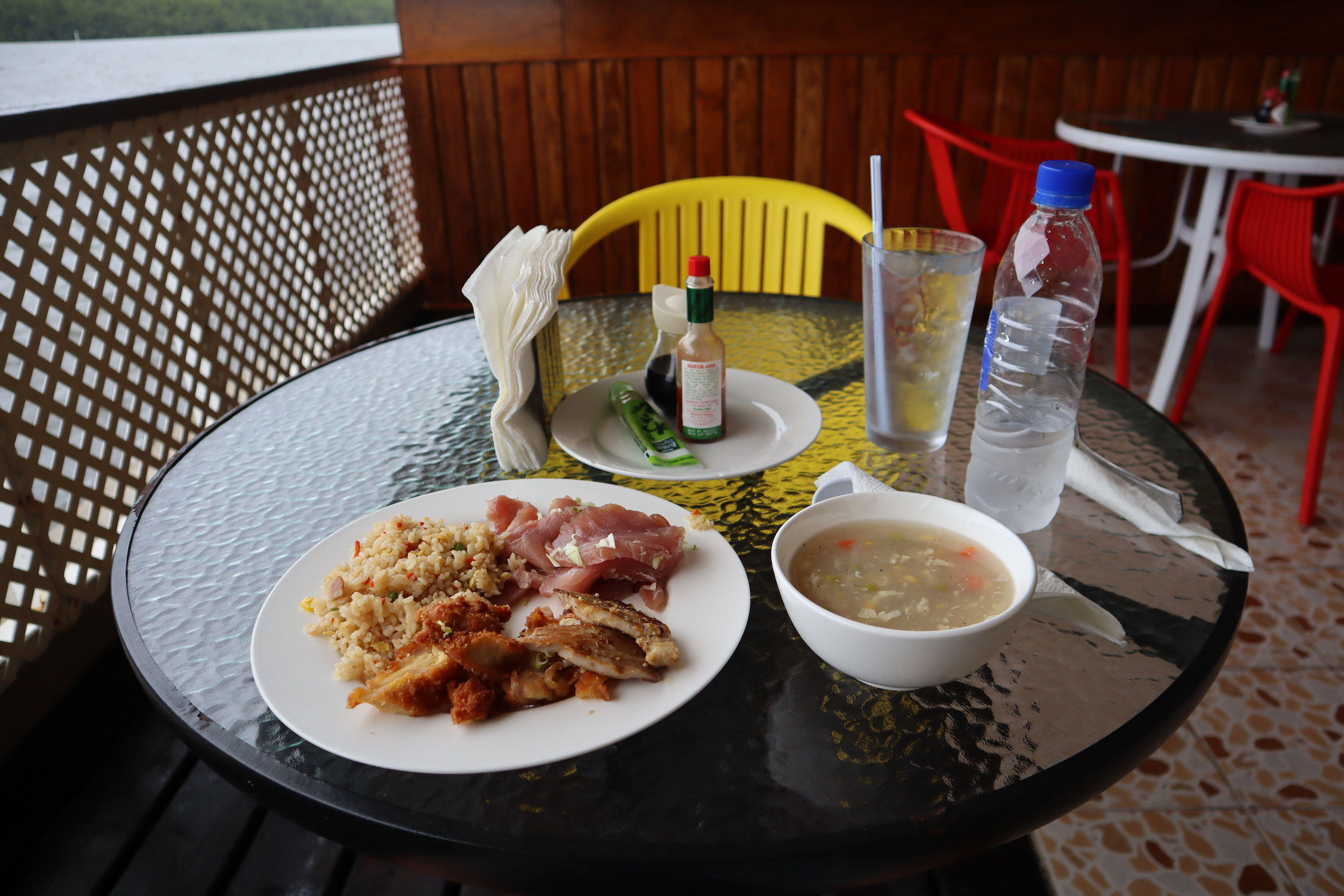 Lunch in Pohnpei