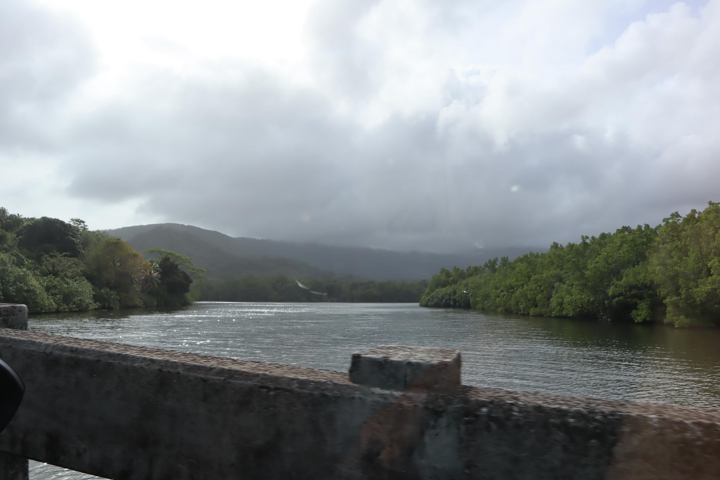 Views along the road to Nan Madol