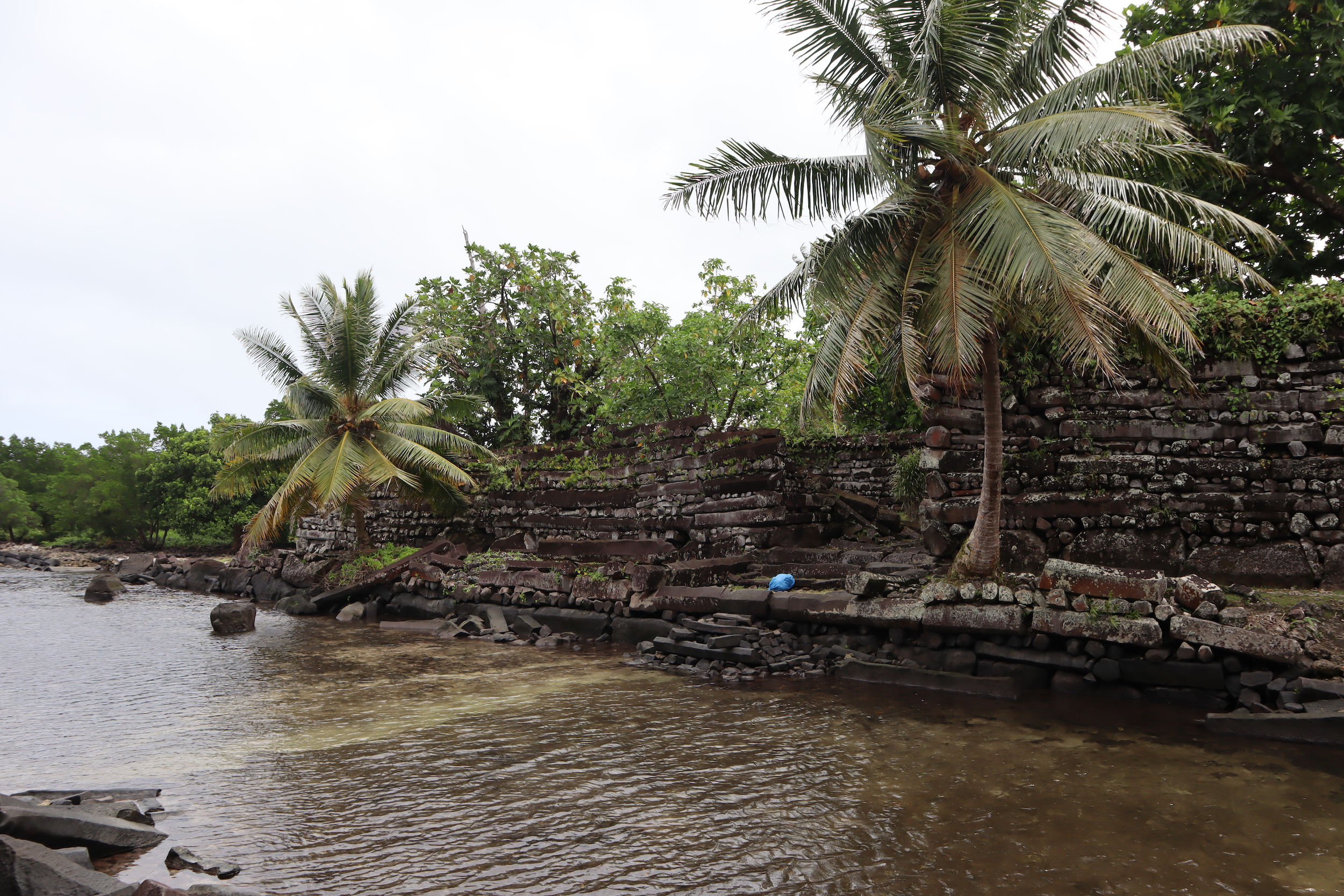 …to arrive at the ancient ruins of Nan Madol.