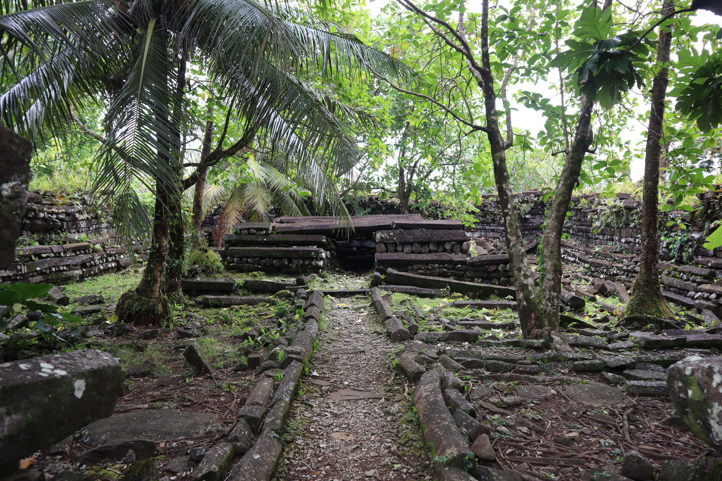 Nan Madol – Central stone altar