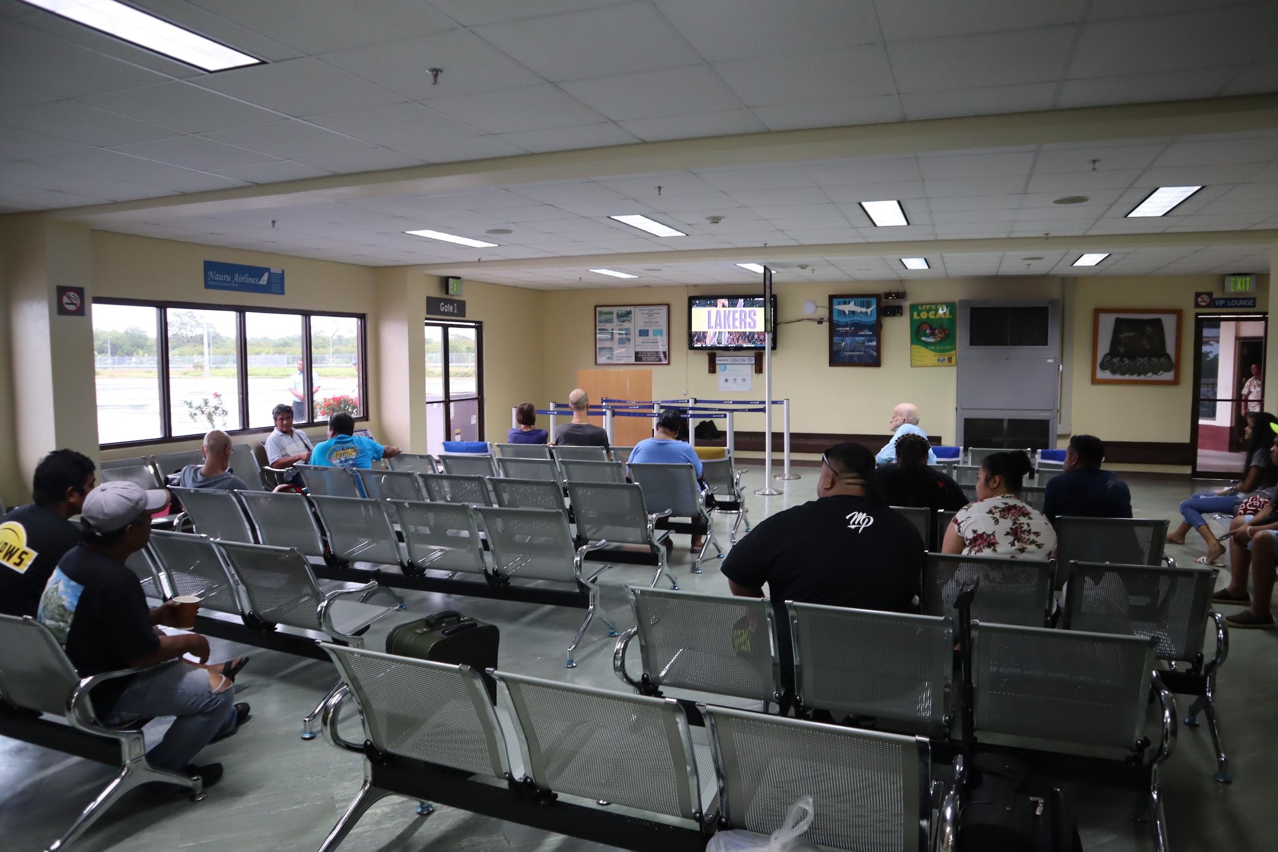 Pohnpei International Airport – Waiting room