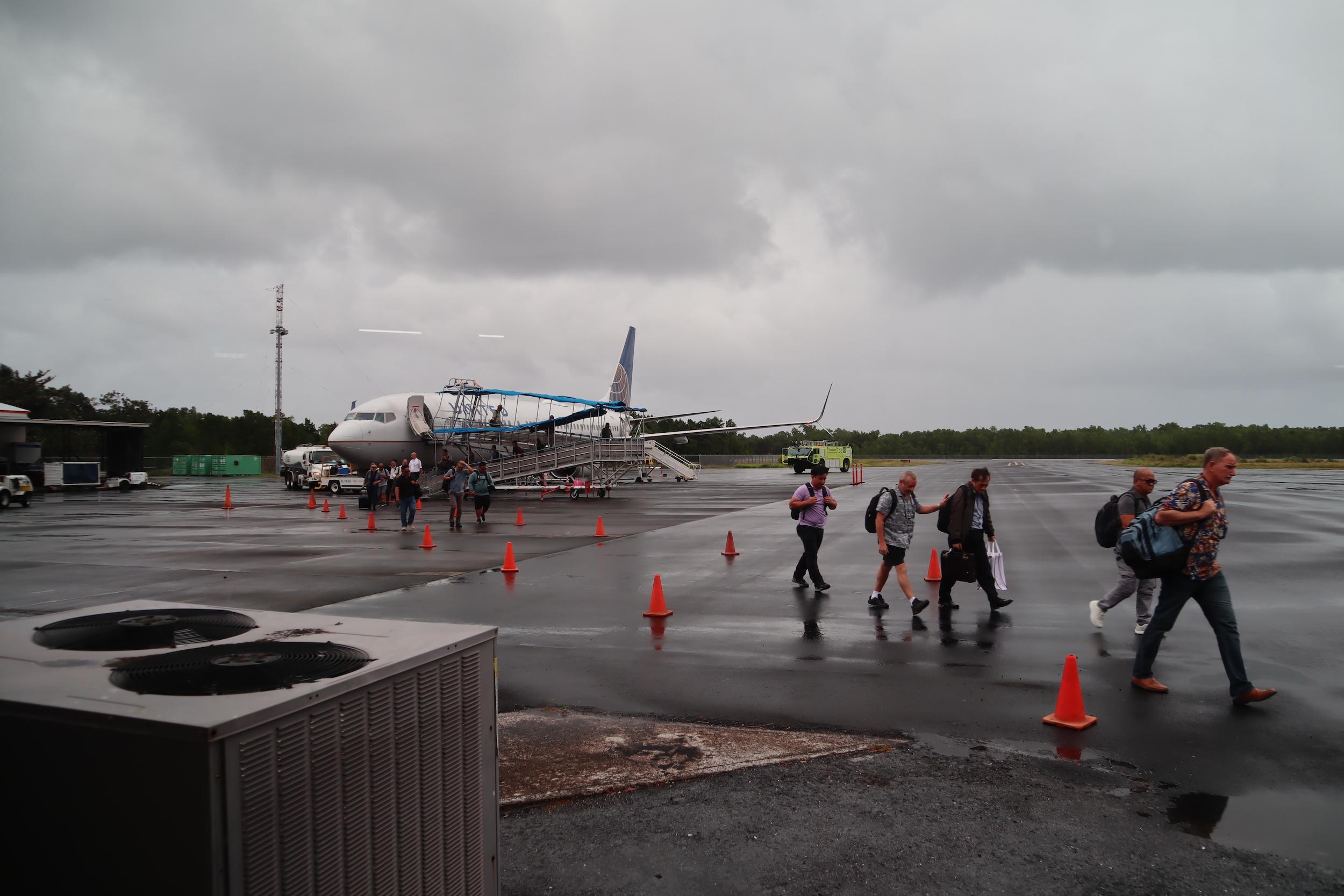 United Flight 155 – Aircraft