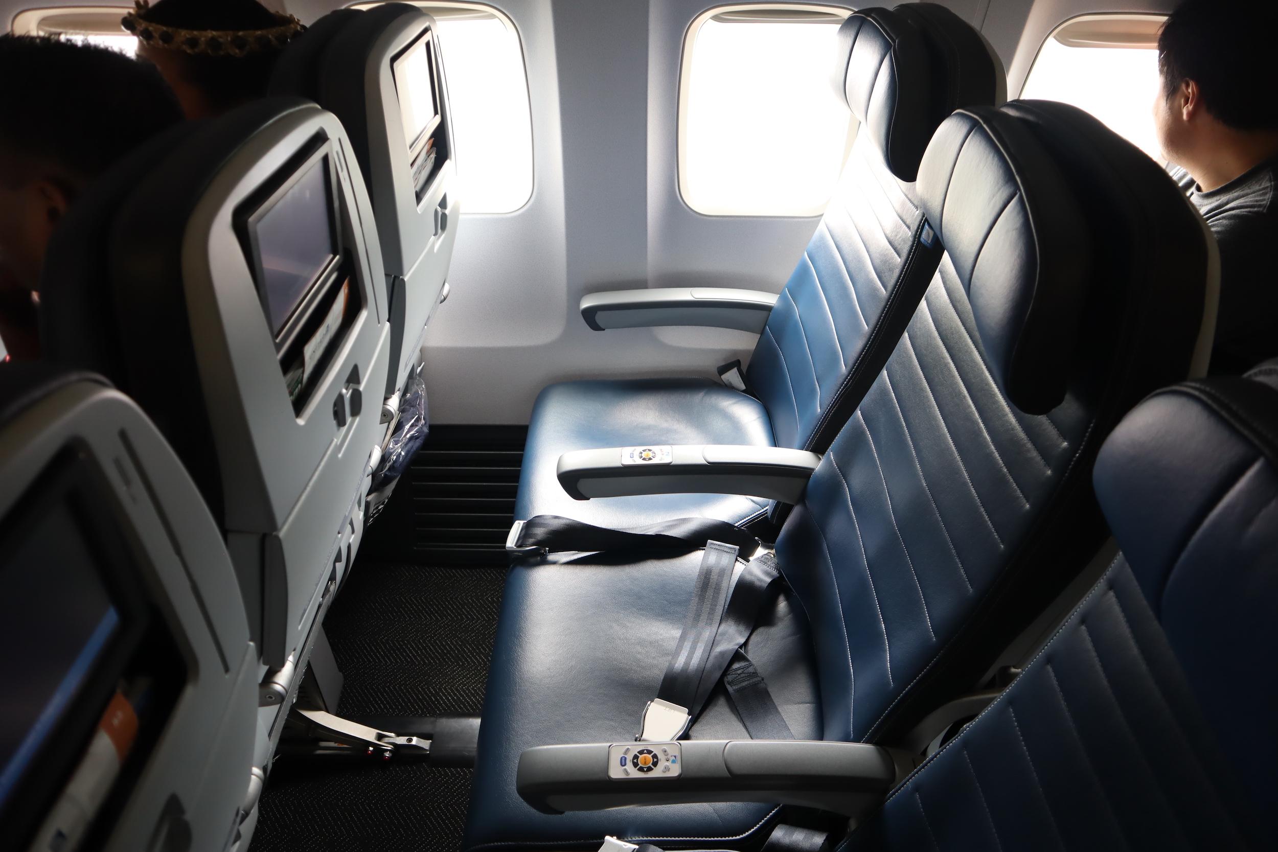 United Flight 155 – Seat 29F