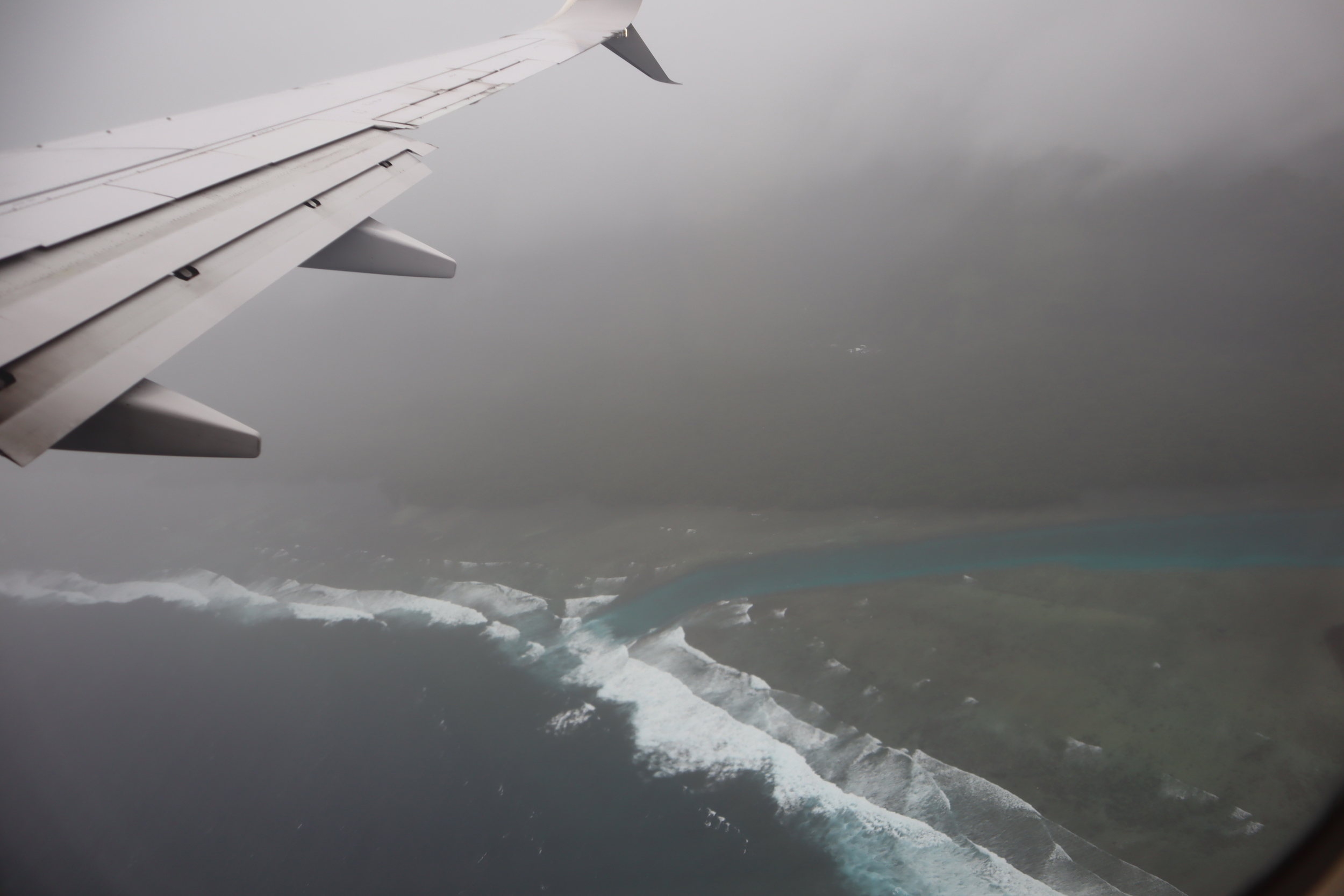 United Flight 155 – Views upon departure from Kosrae