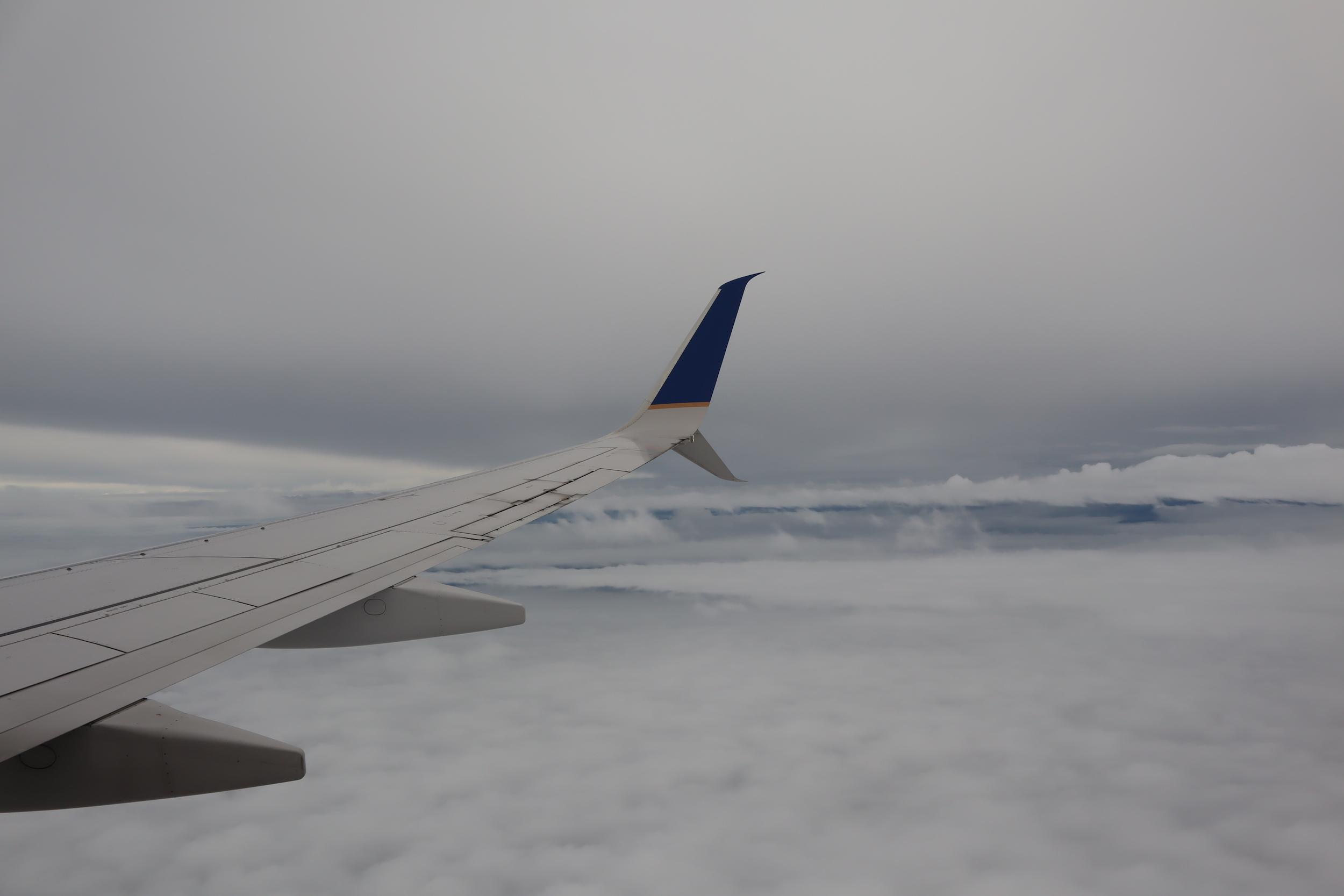 United Flight 155 – Views en route to Kwajalein