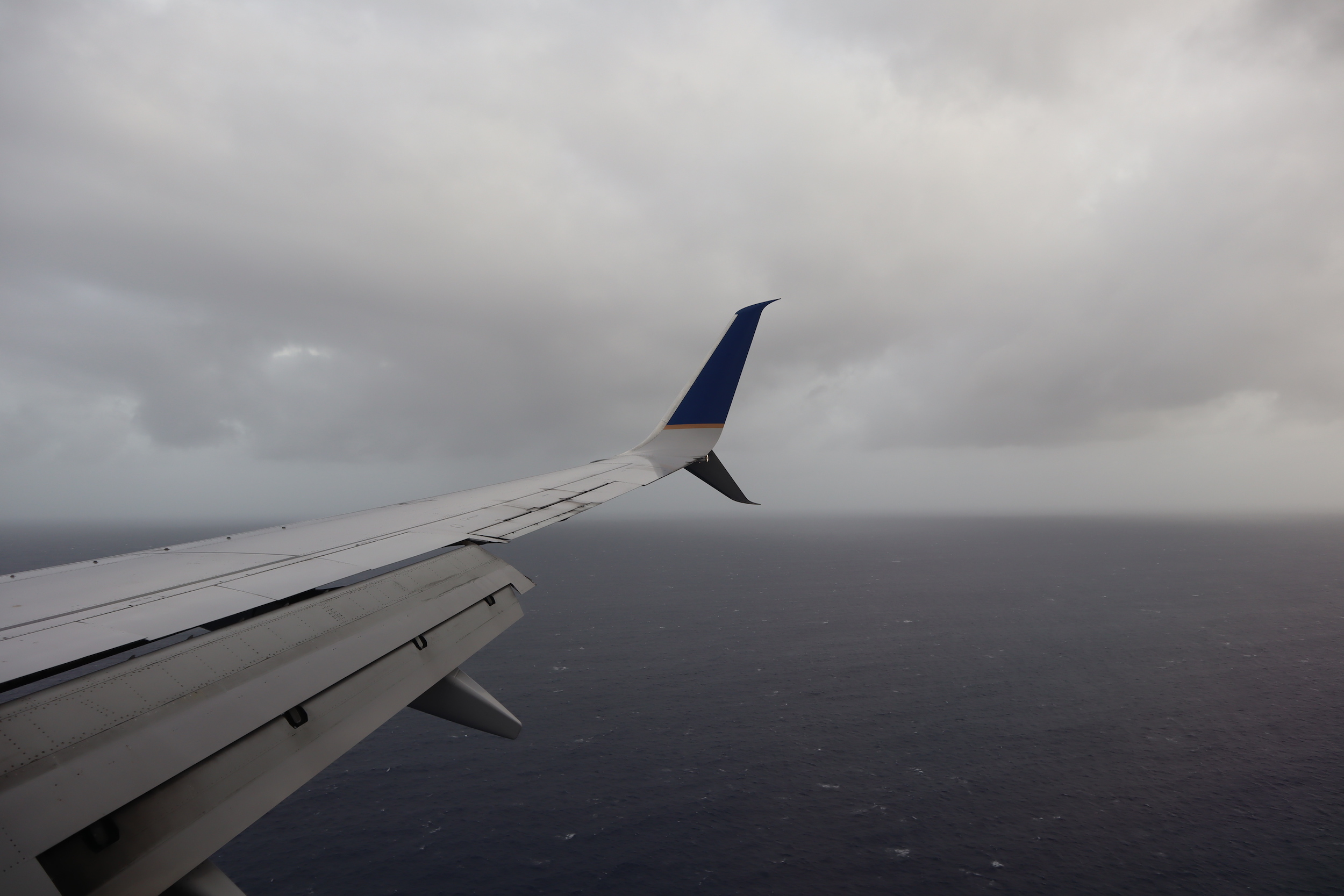 United Flight 155 – Views on approach to Kwajalein