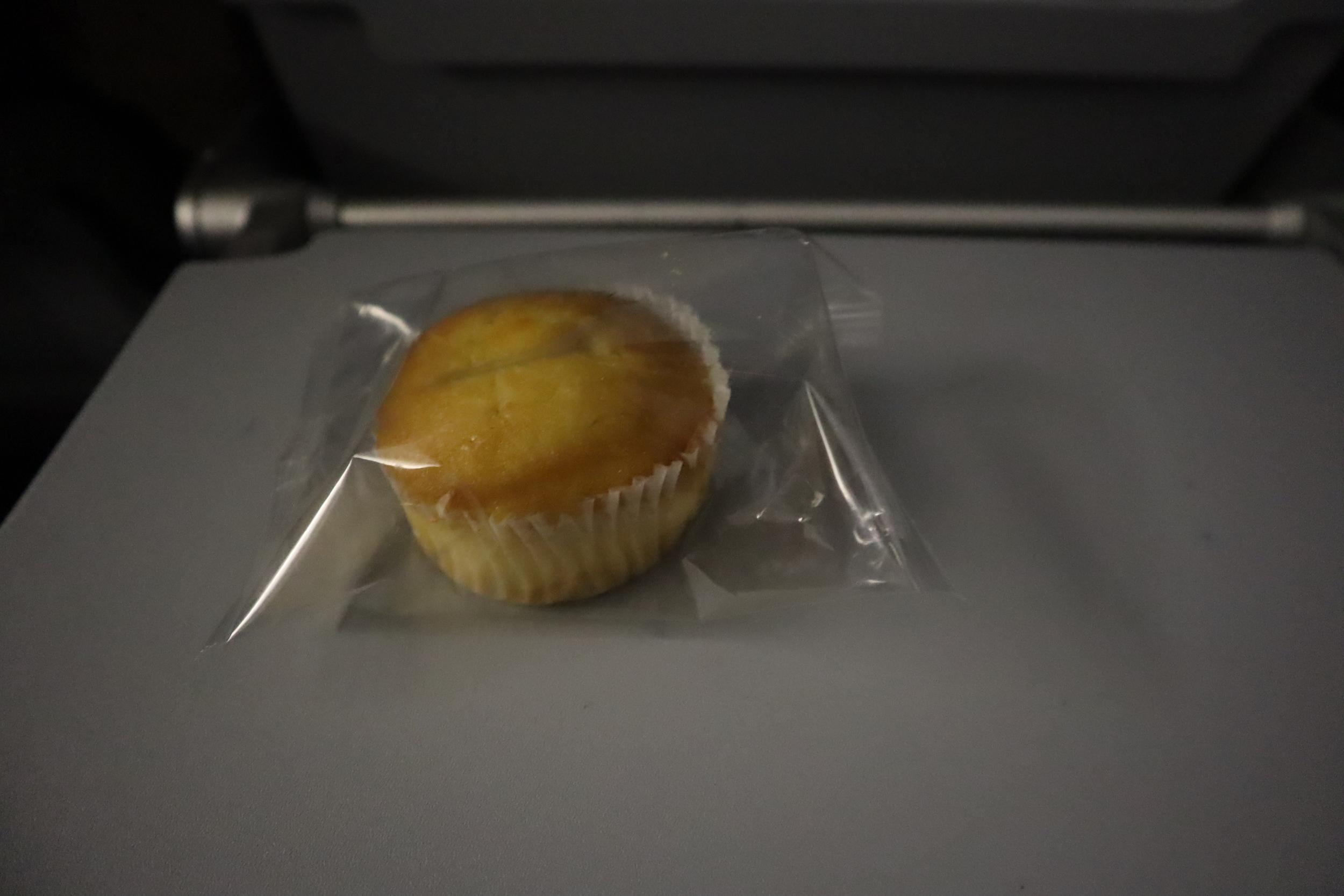 """United Flight 155 – In-flight """"snack"""""""