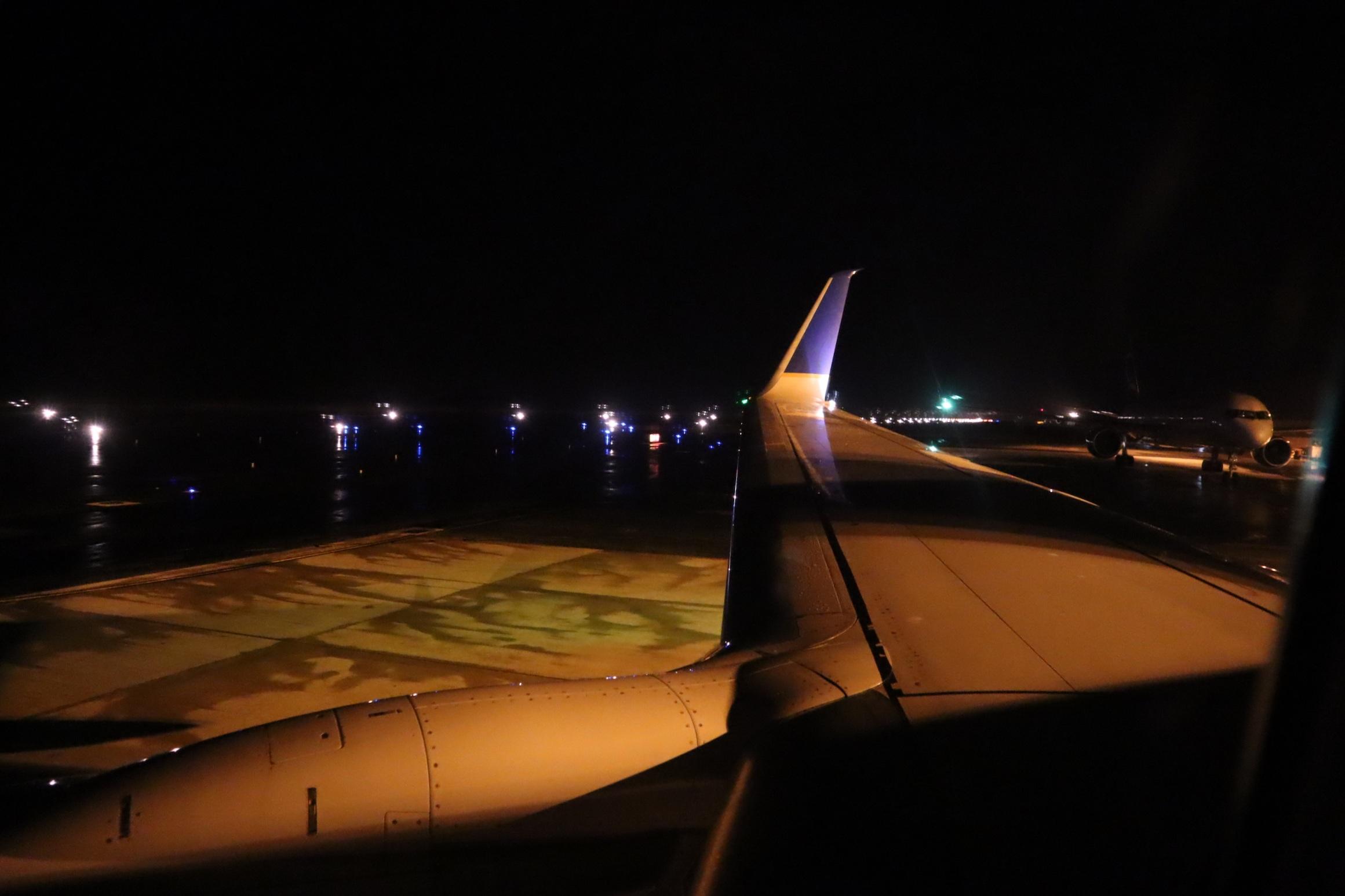 United Flight 155 – Views on taxi in Majuro