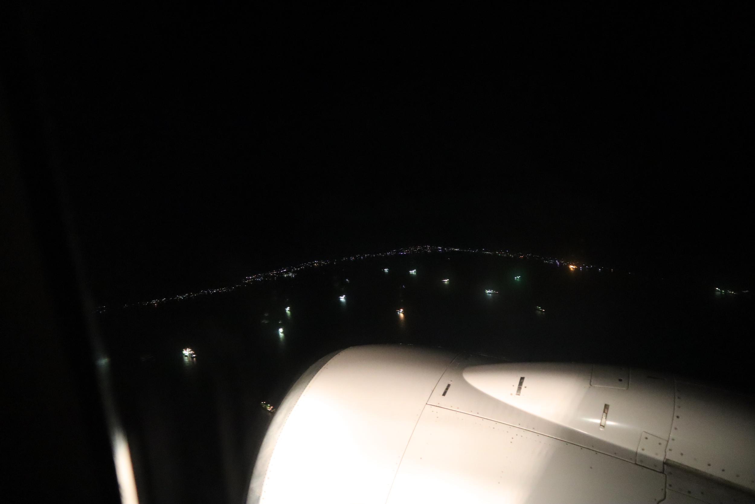 United Flight 155 – Views upon departure from Majuro