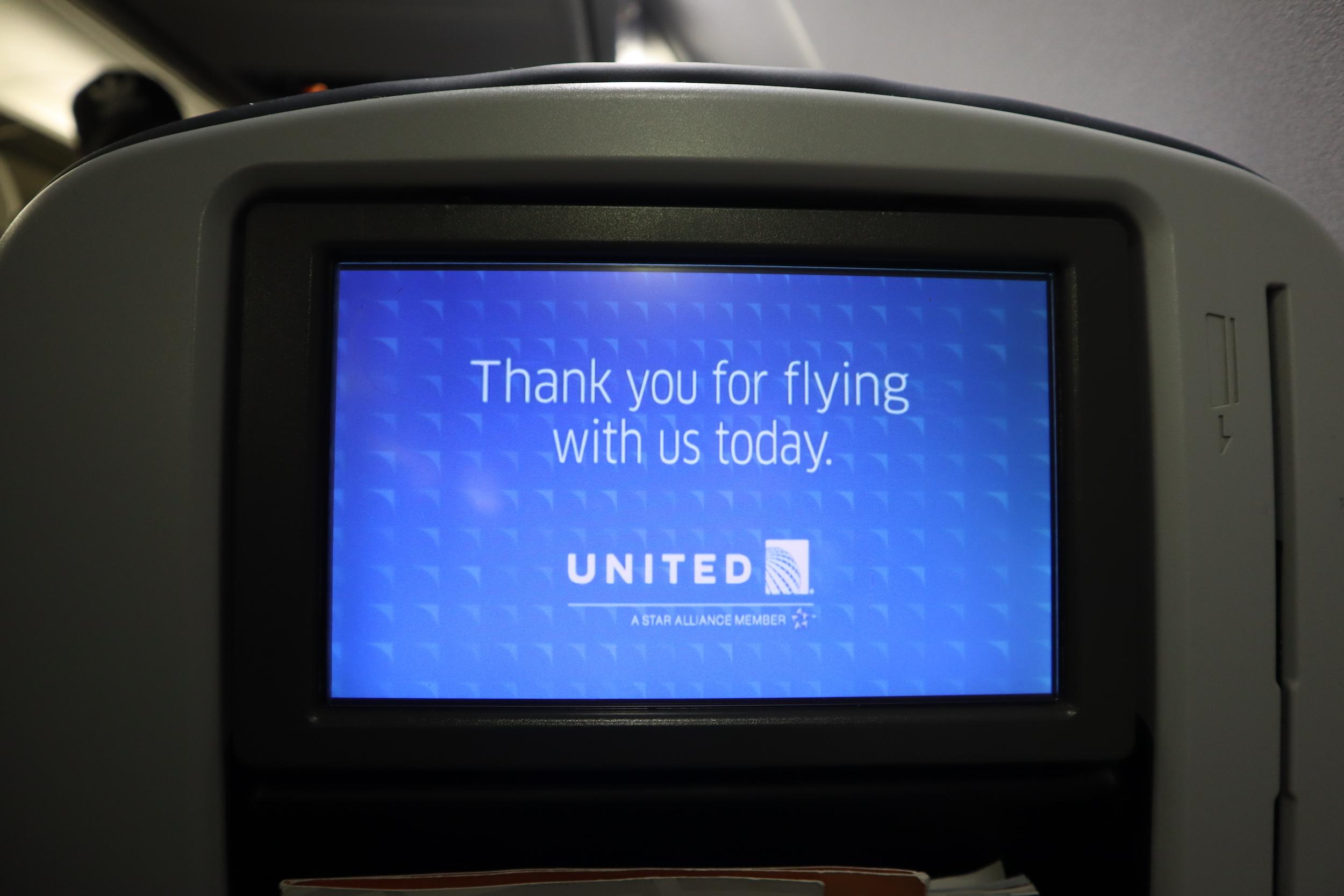 United Flight 155 – Arrival in Honolulu