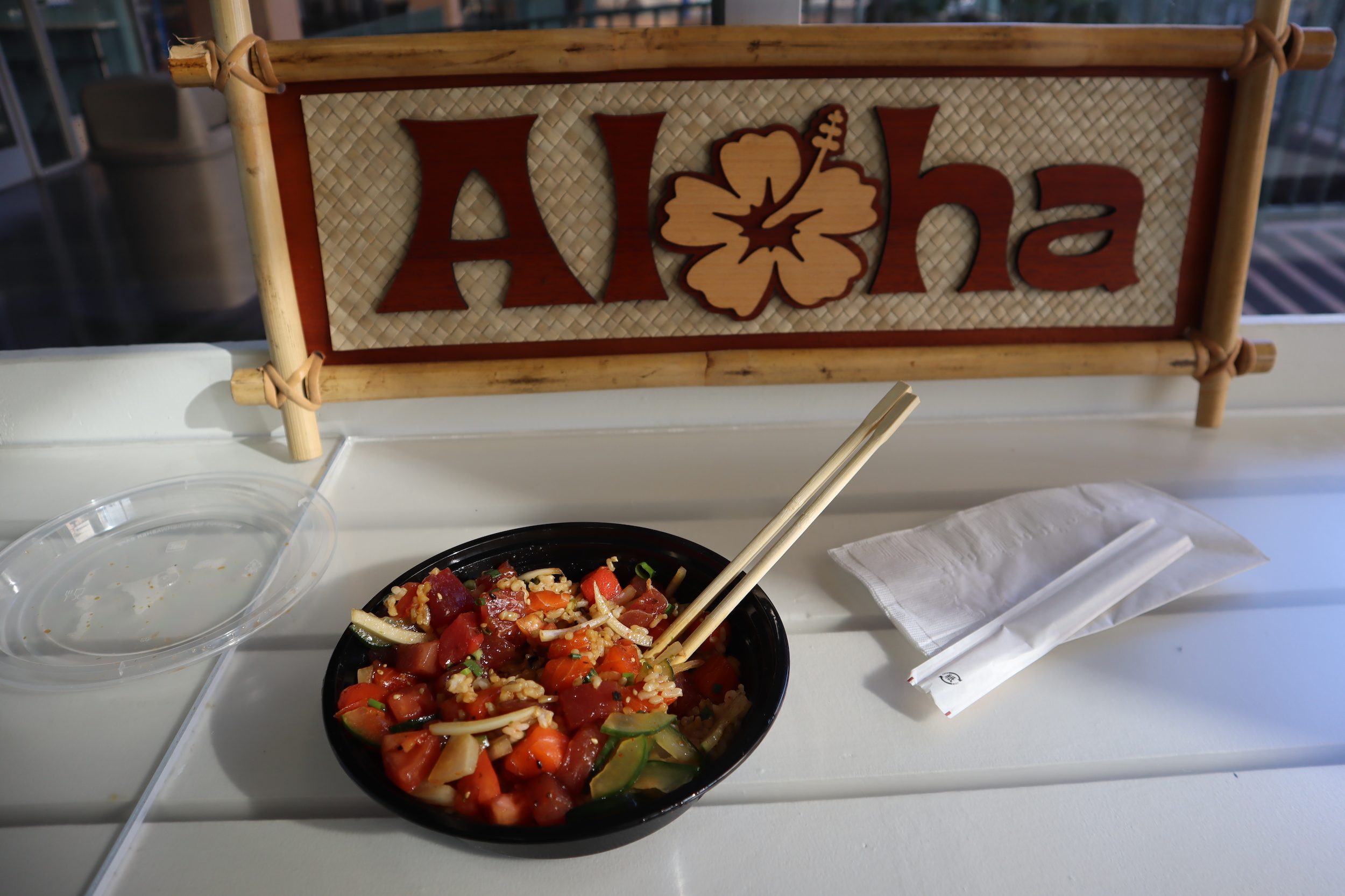 …for a bowl of victory poke!