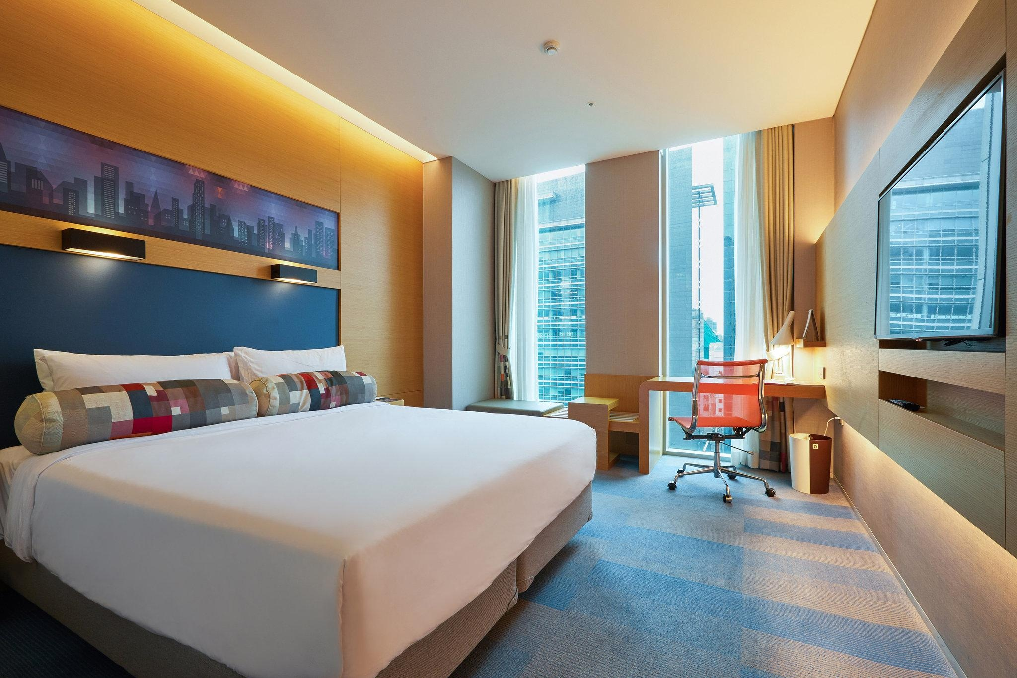 Lock in a free night at the Aloft Seoul Gangnam for 17,500 Bonvoy points