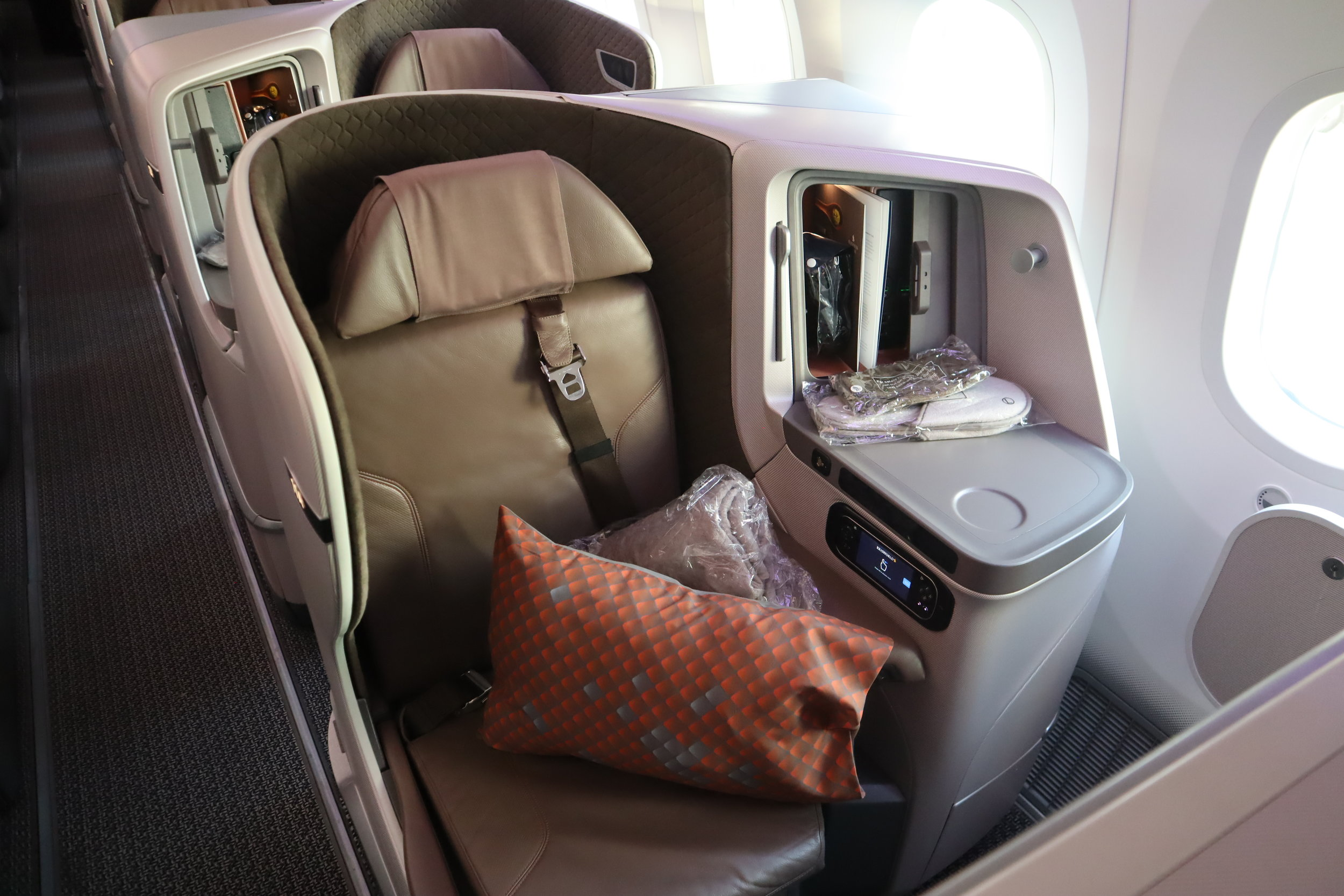 Fly Singapore Airlines business class on an ANA RTW award!