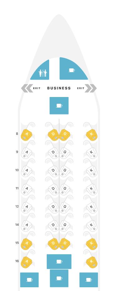 Review: EgyptAir 787 Business Class Cairo to Washington