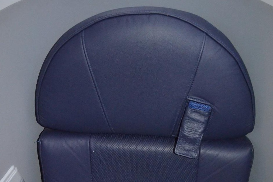 EgyptAir 787 business class – Lap belt