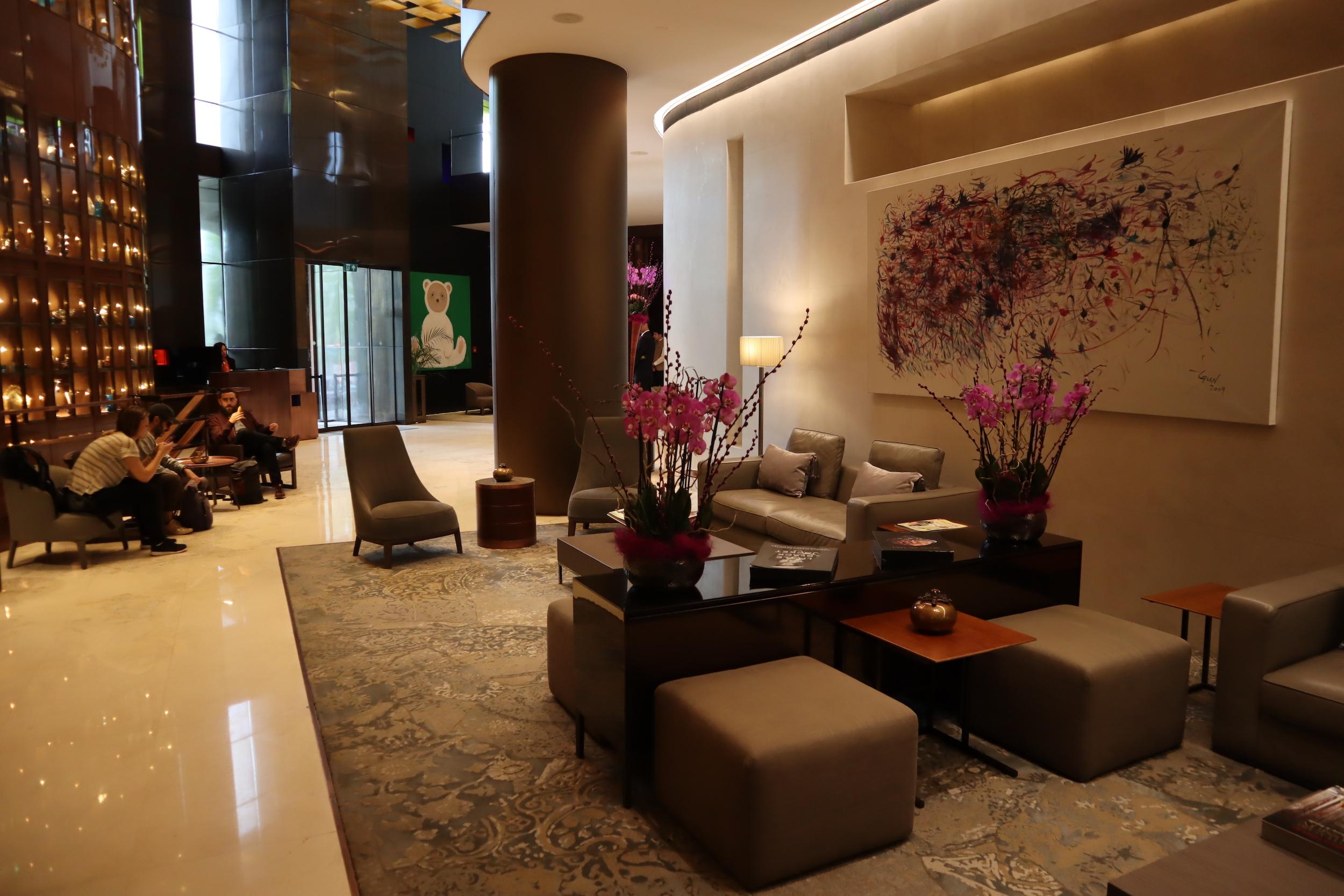 St. Regis Istanbul – Lobby lounge