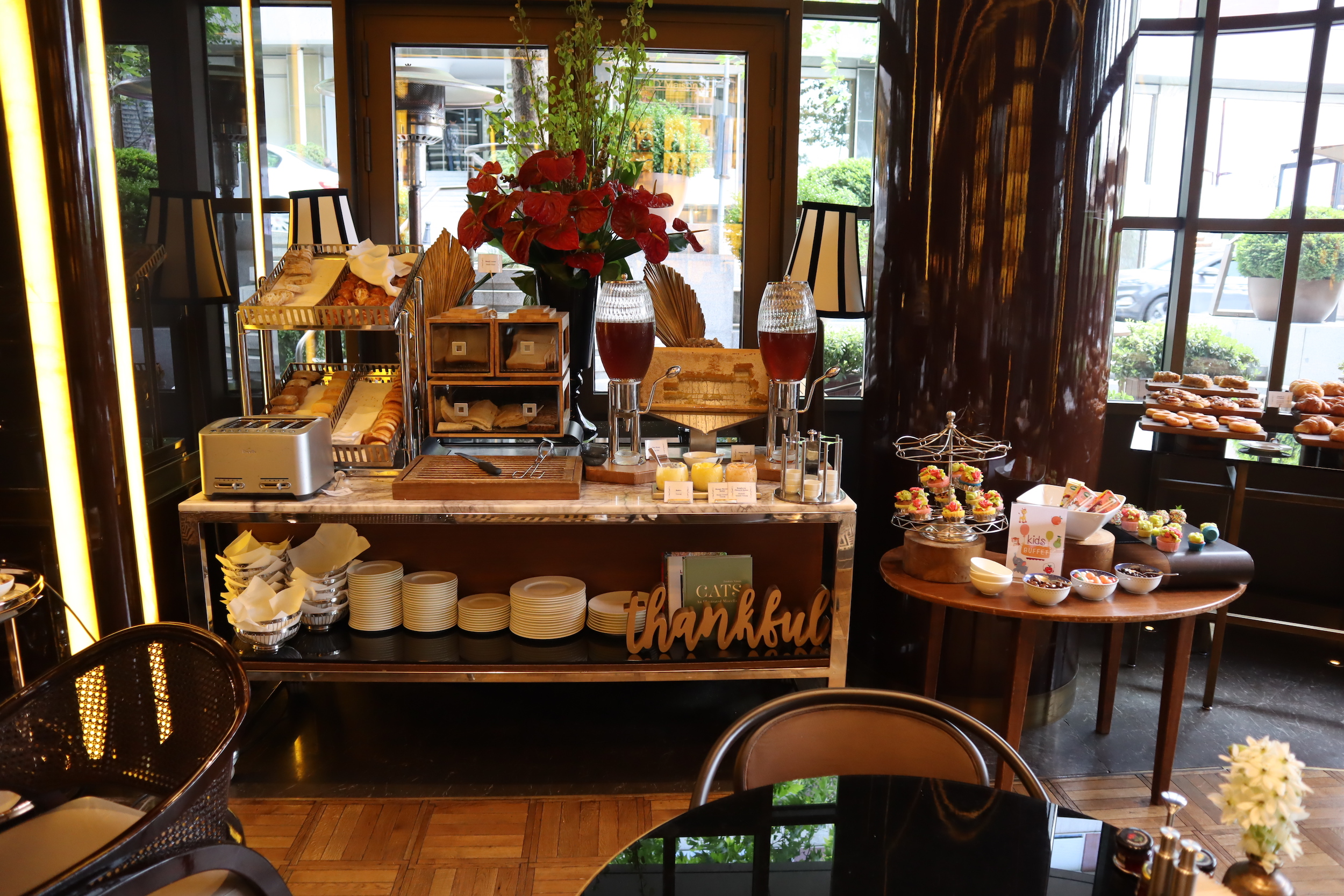 St. Regis Istanbul – Breakfast pastry spread
