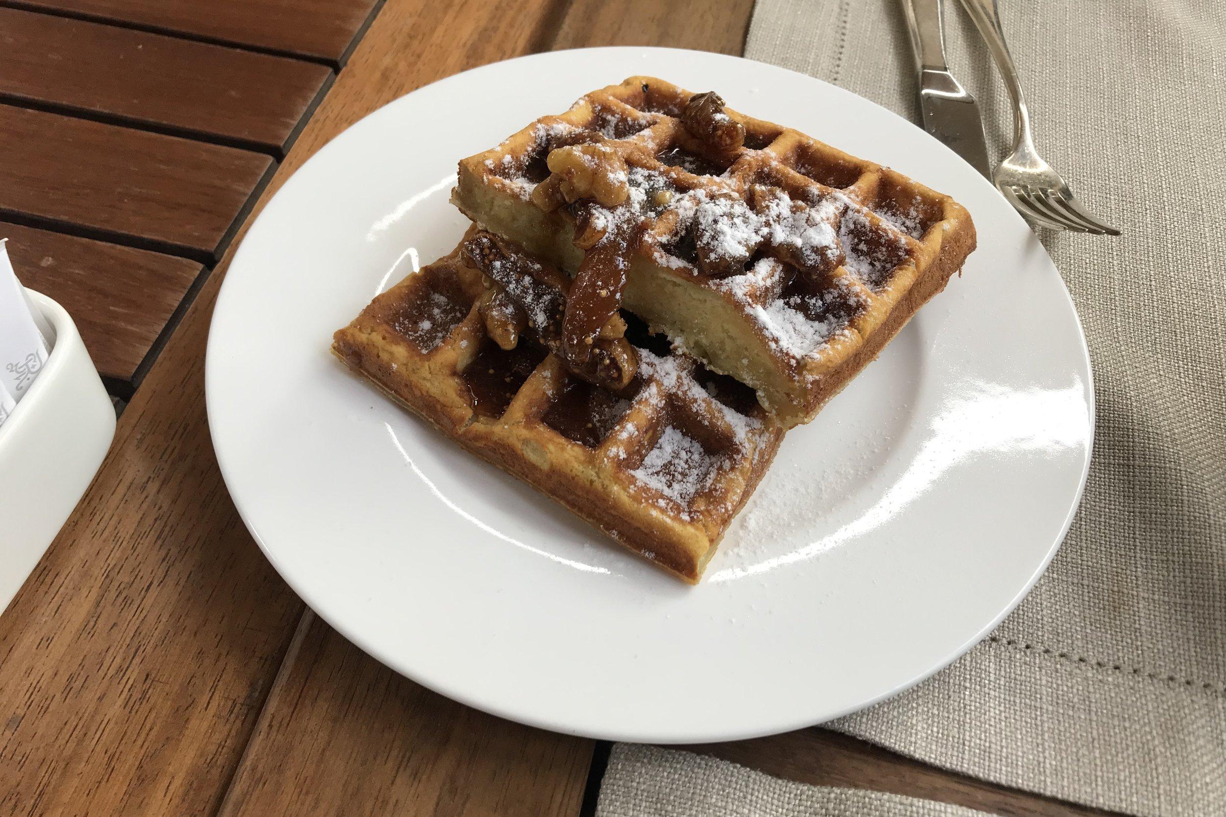 St. Regis Istanbul – Belgian waffles