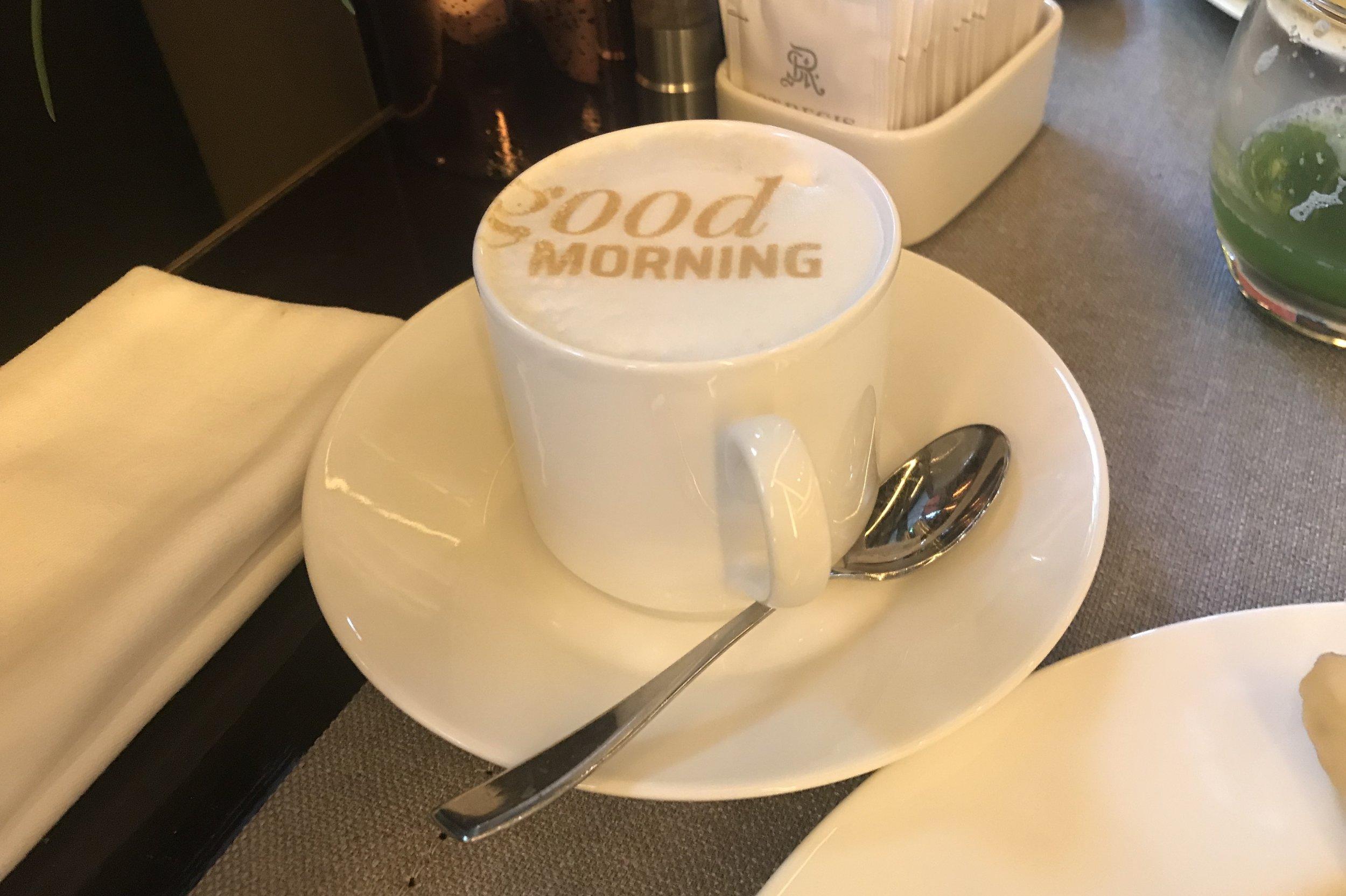 St. Regis Istanbul – Cappuccino