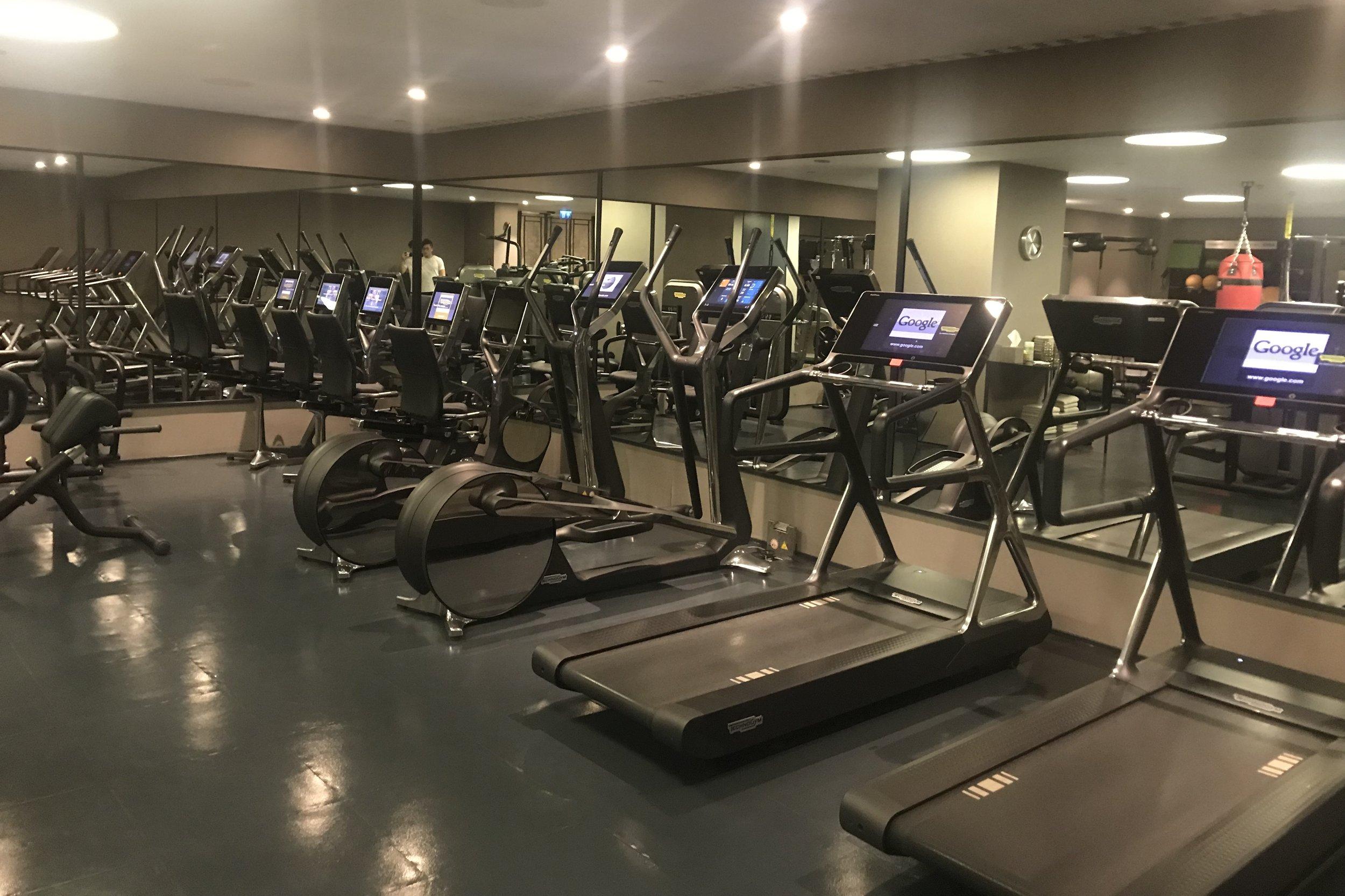 St. Regis Istanbul – Gym equipment