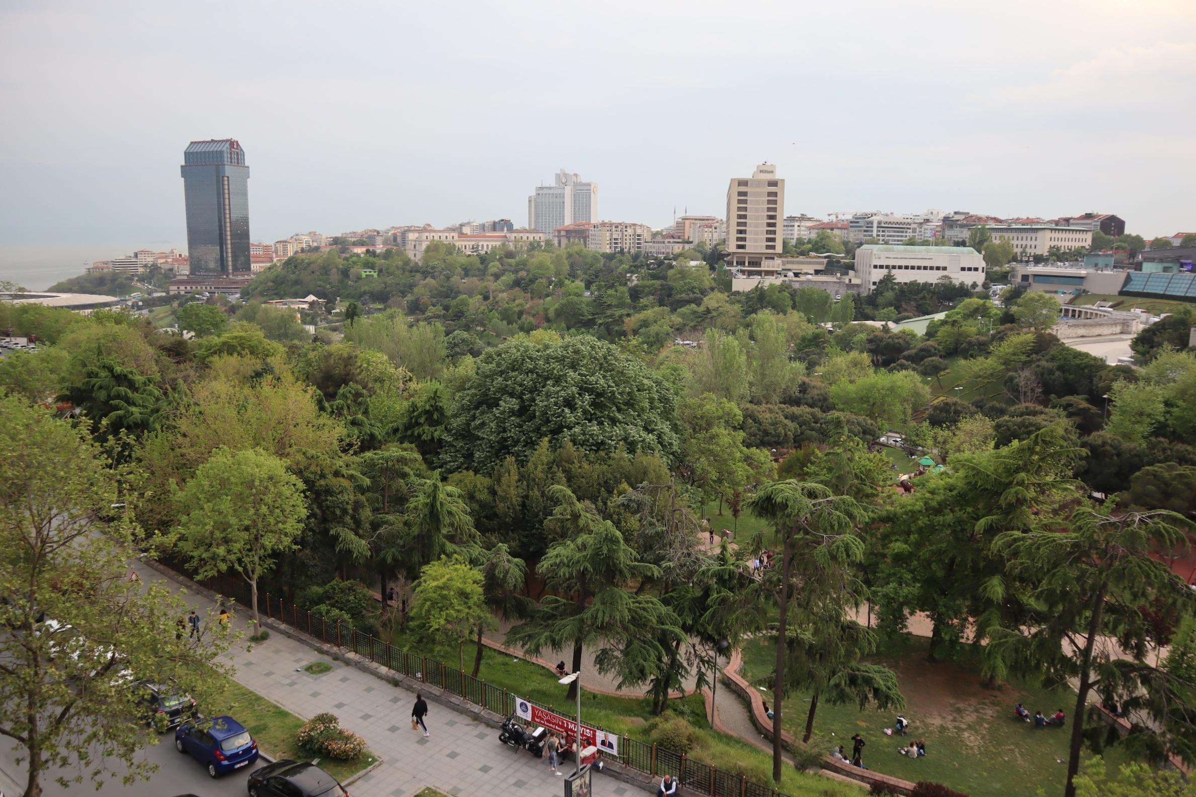 St. Regis Istanbul – Views of Maçka Sanat Park