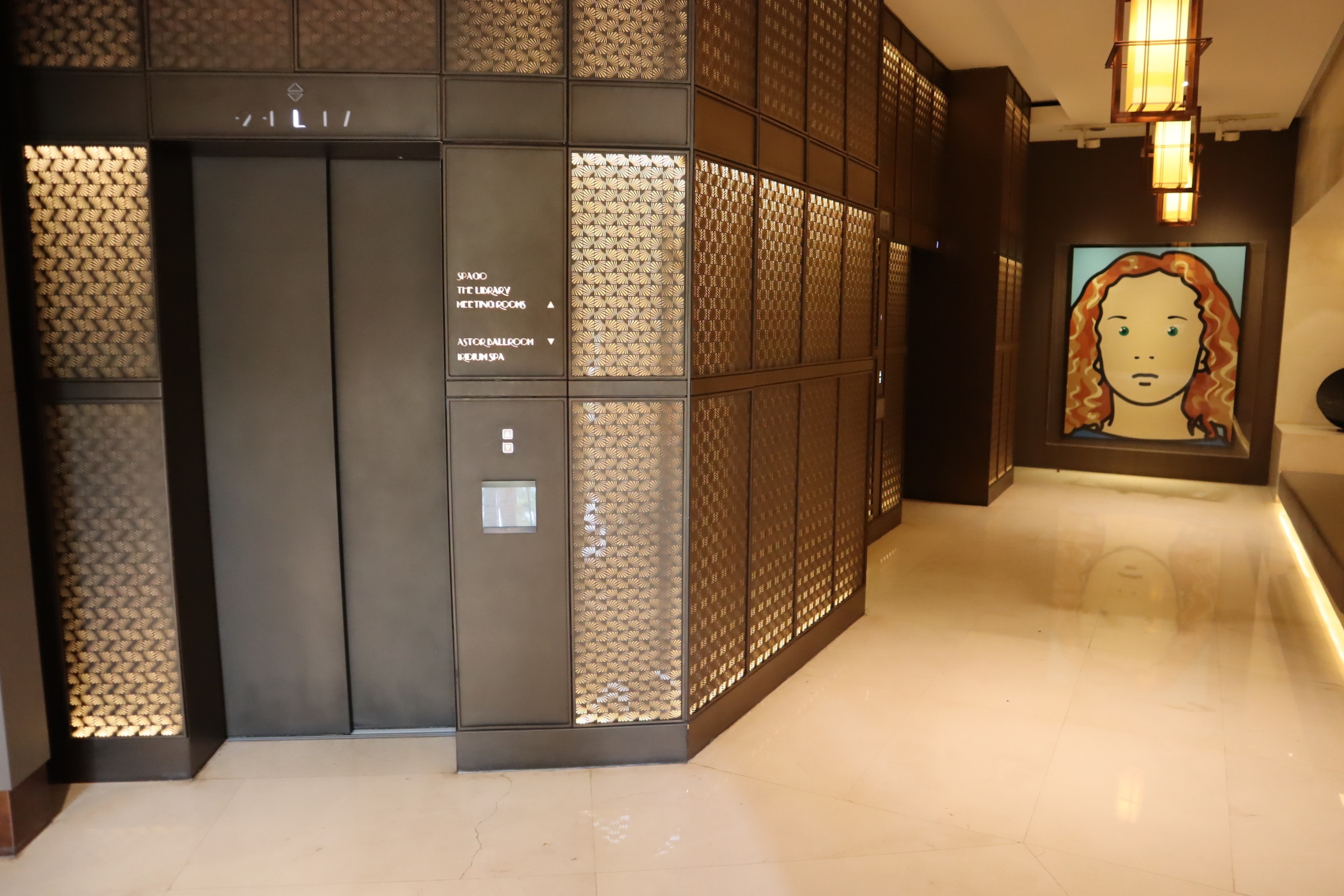 St. Regis Istanbul – Elevators