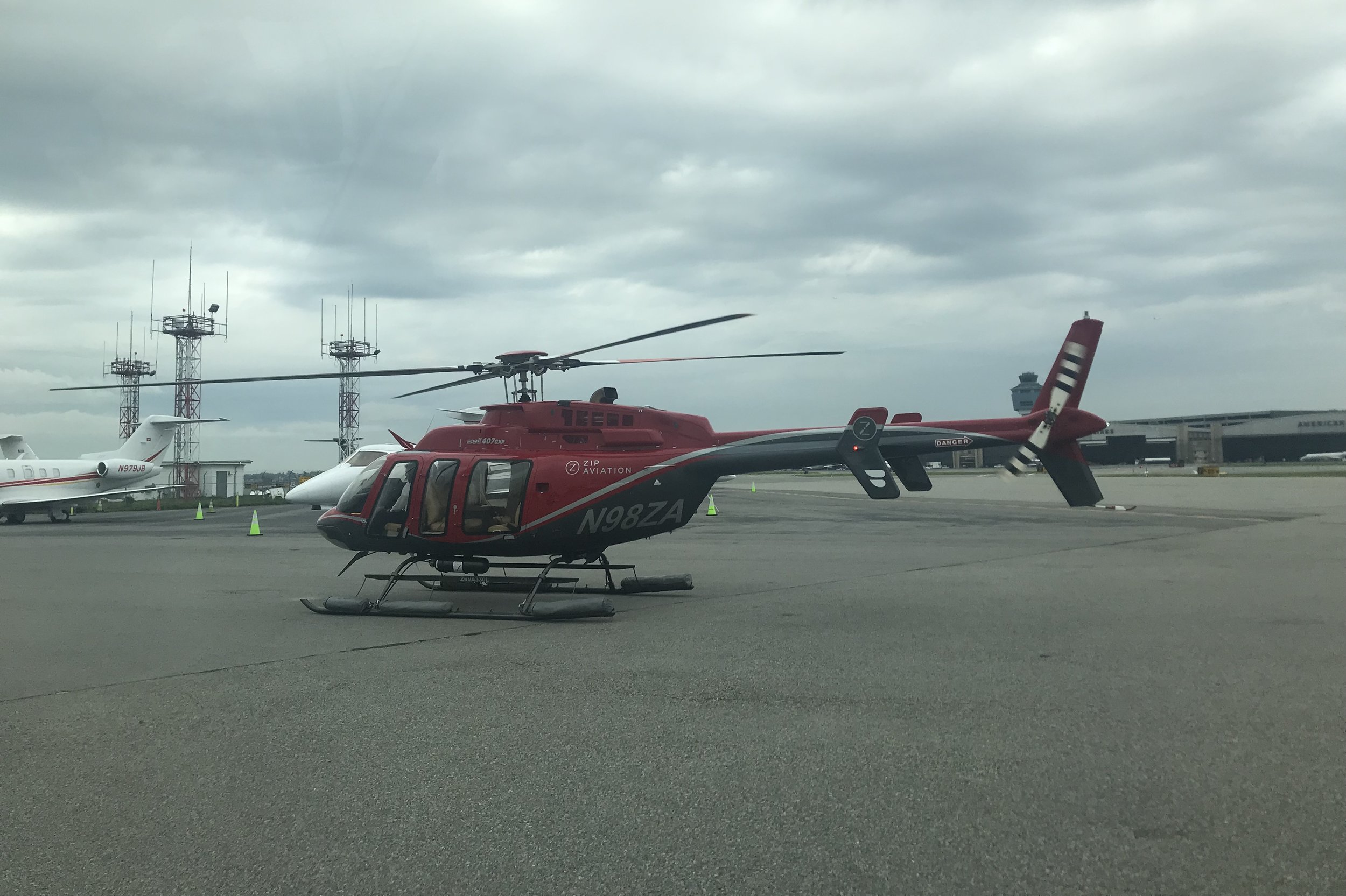 BLADE Helicopters – Our ride to Manhattan!