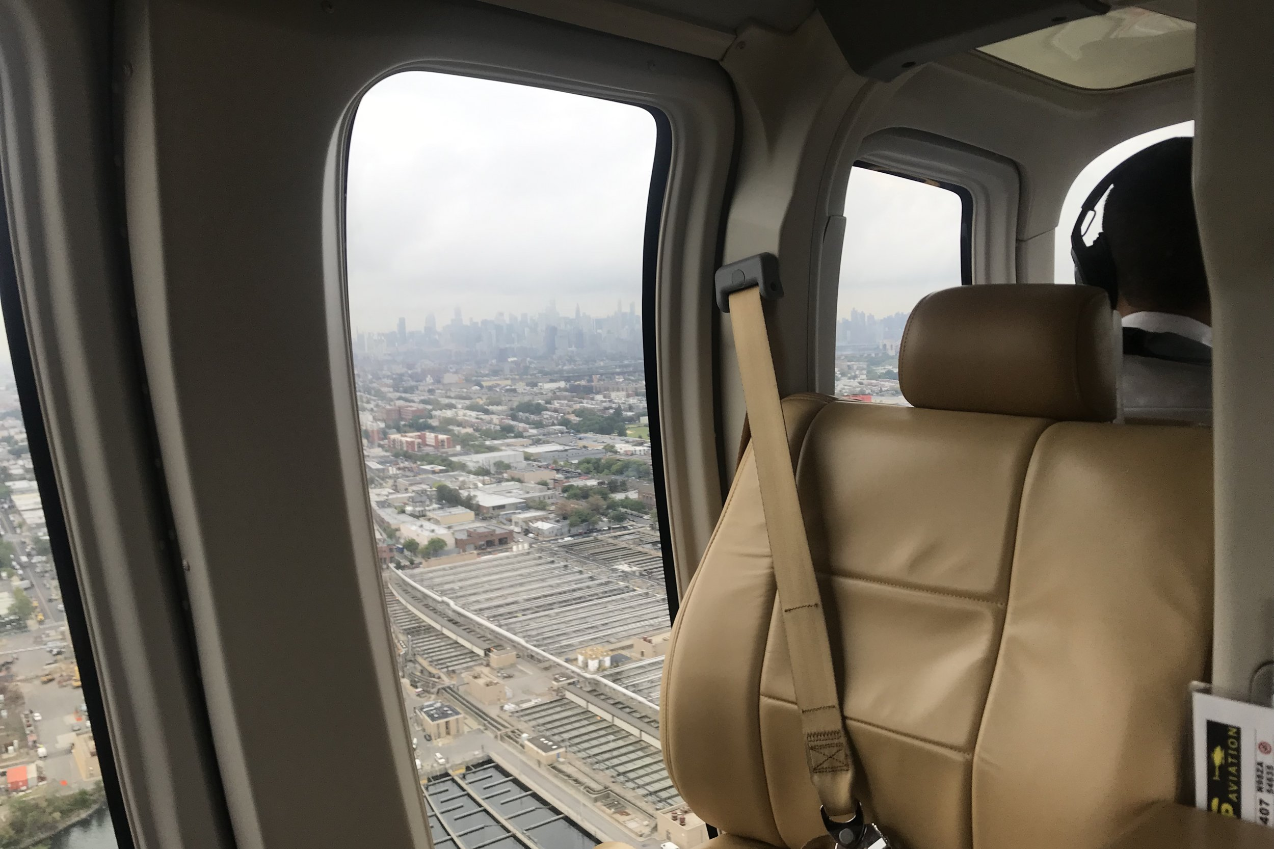 BLADE Helicopters – Views of Manhattan in the distance