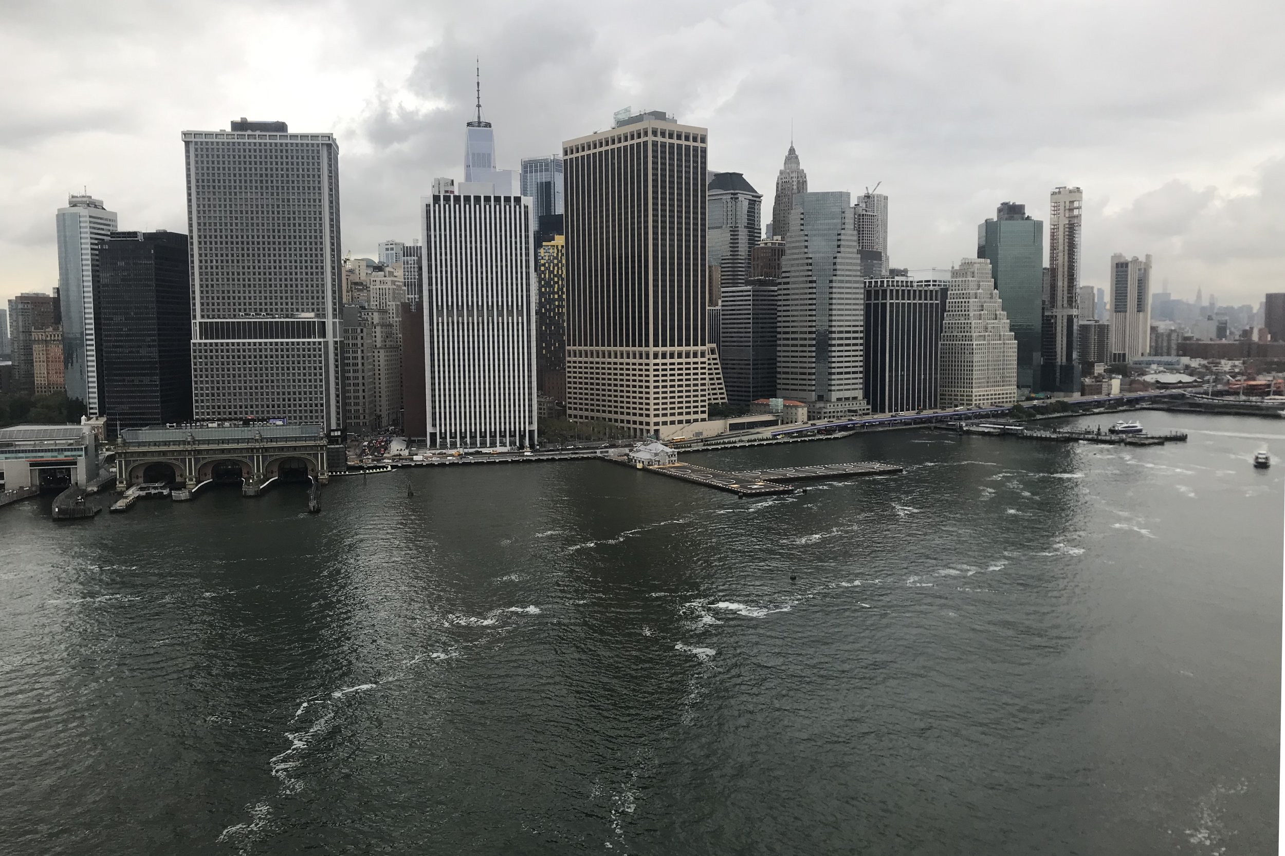 BLADE Helicopters – Approach to Downtown Manhattan Heliport