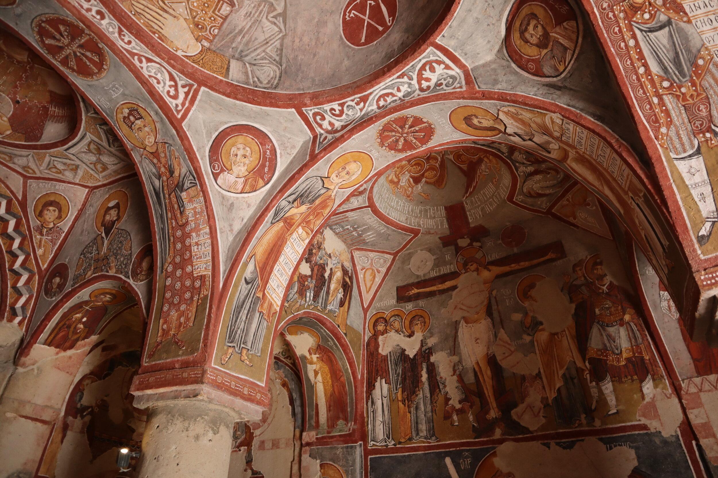 Göreme Open Air Museum – Rock-cut churches