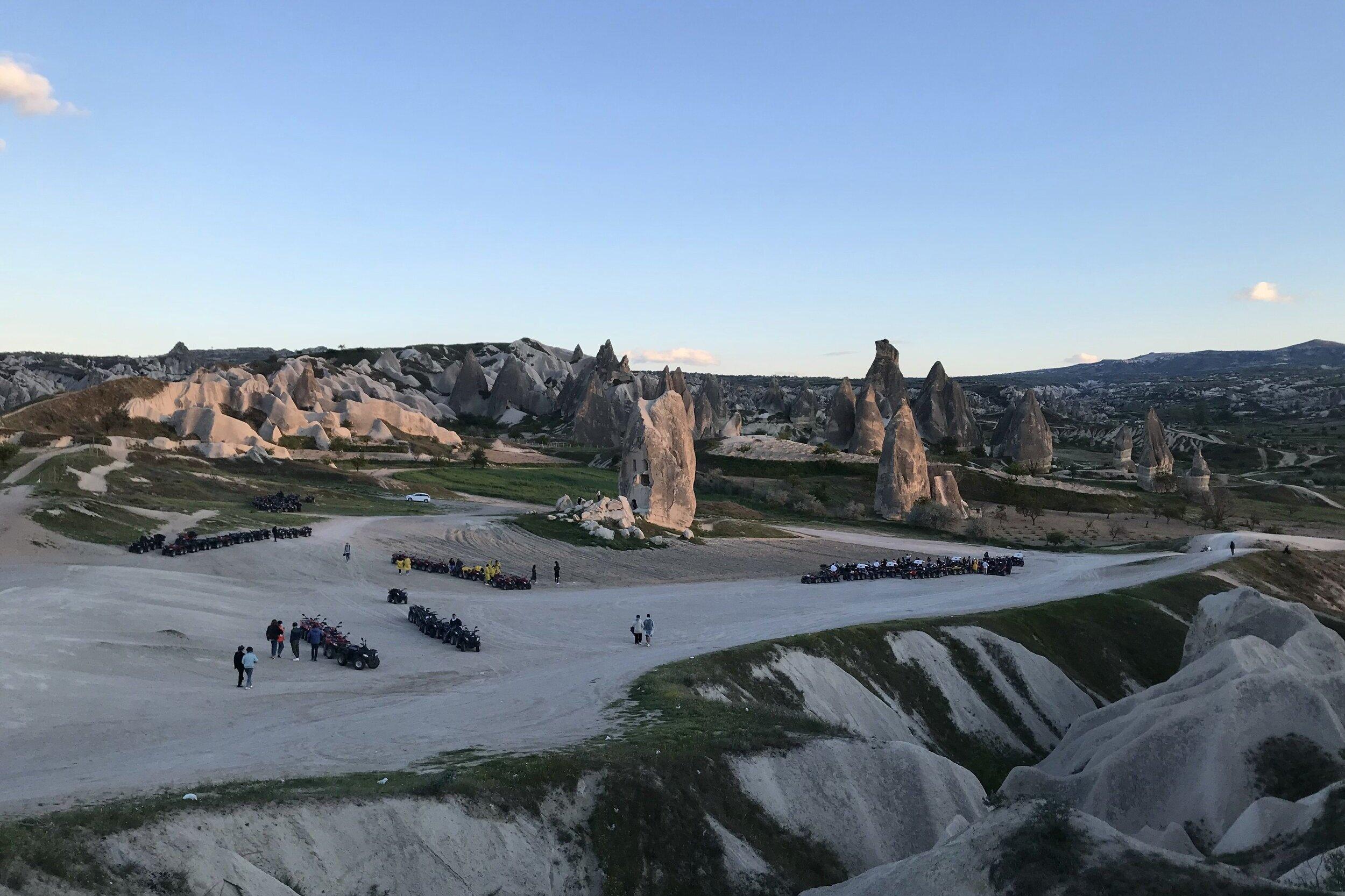 Sunset ATV tour of Göreme National Park