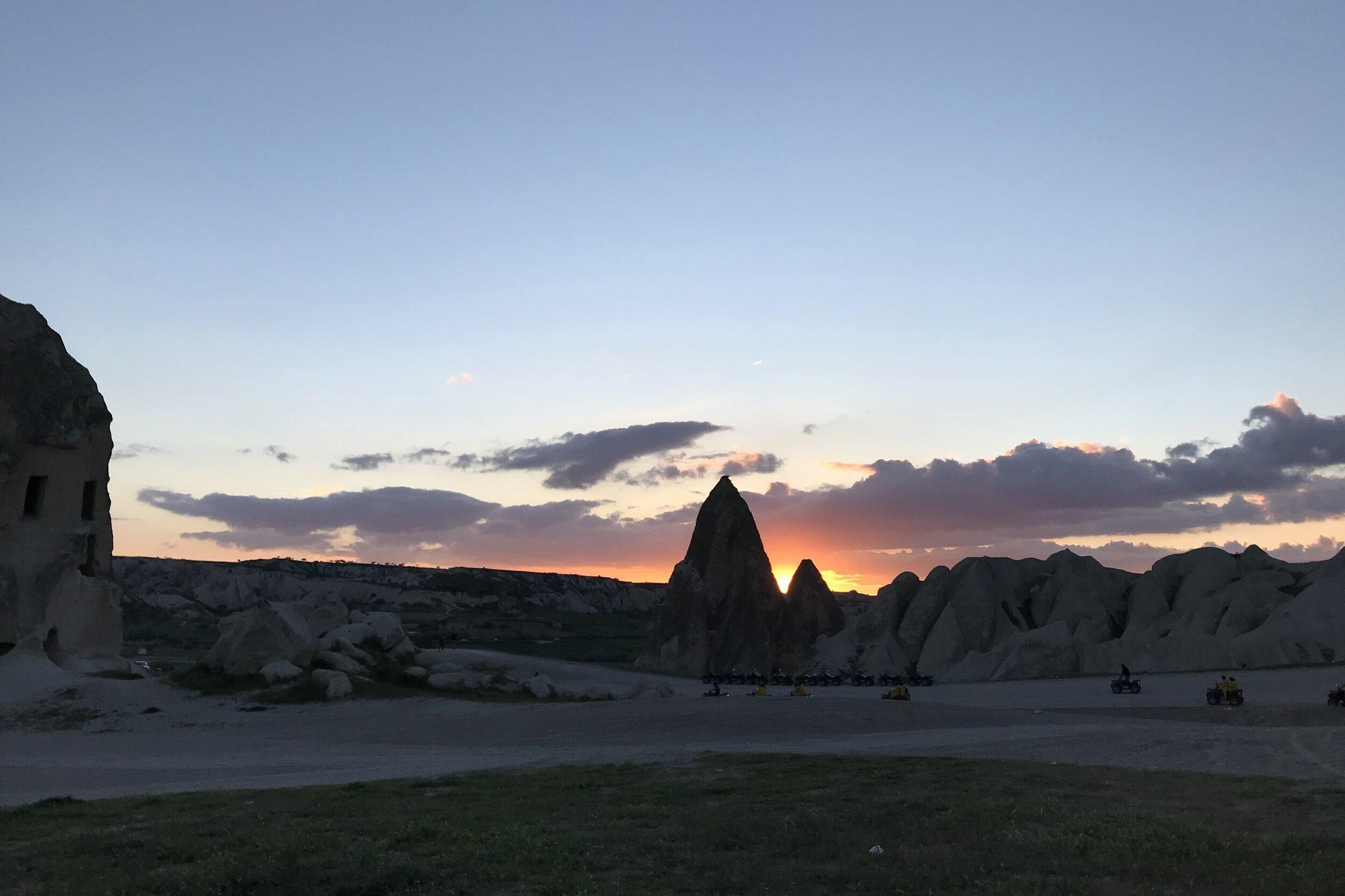 Sunset at Göreme National Park