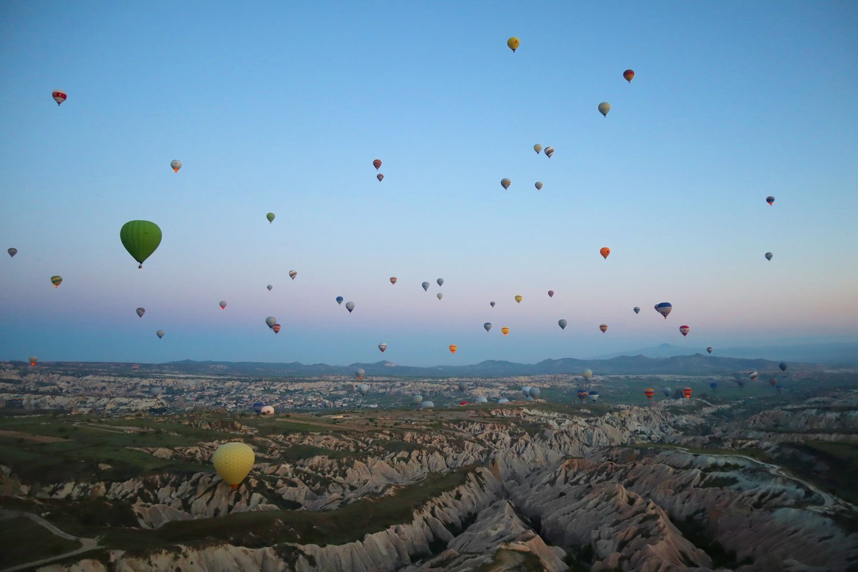 New Article   The Captivating Caves of Cappadocia