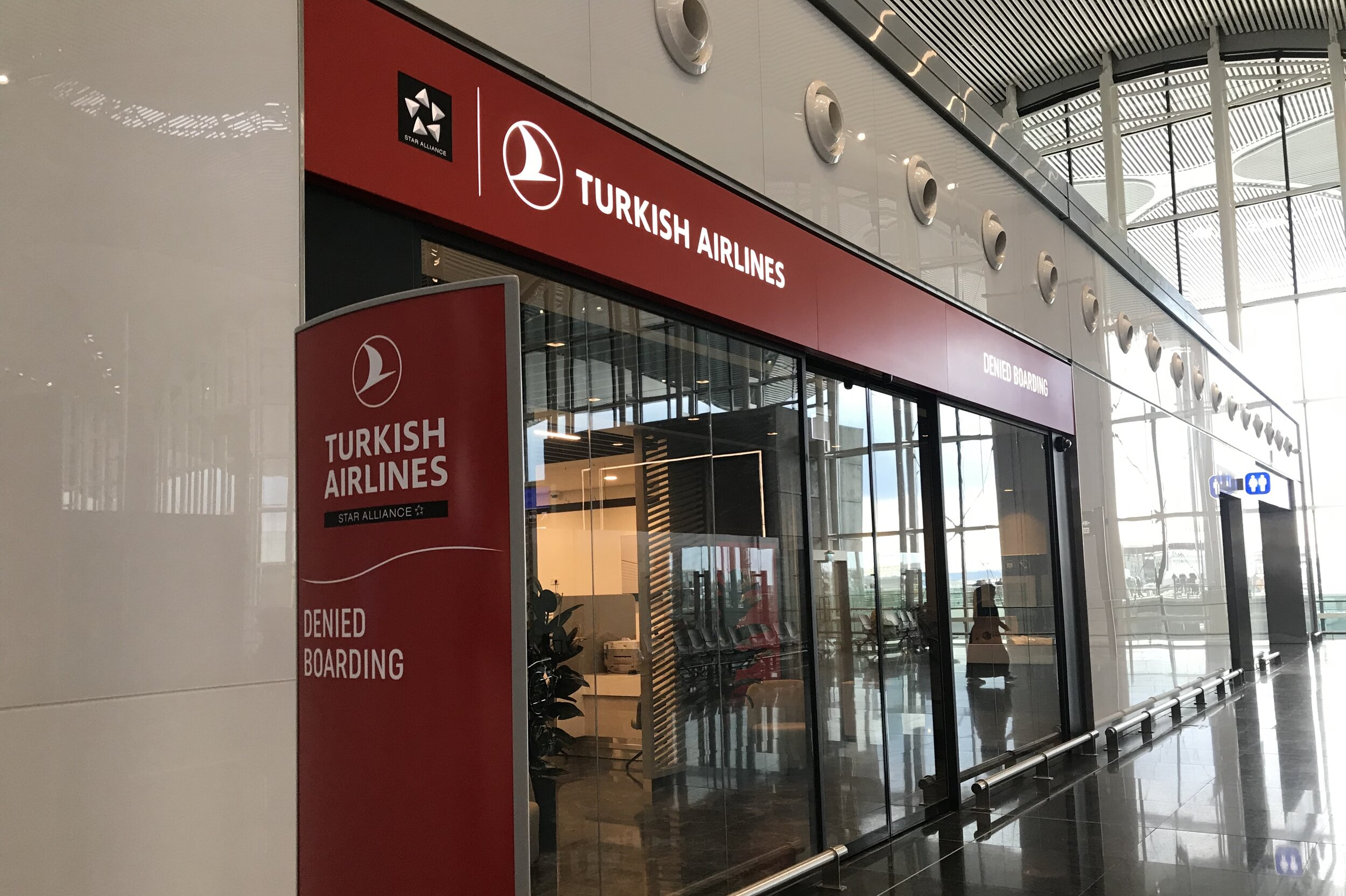 Istanbul New Airport – Denied Boarding lounge